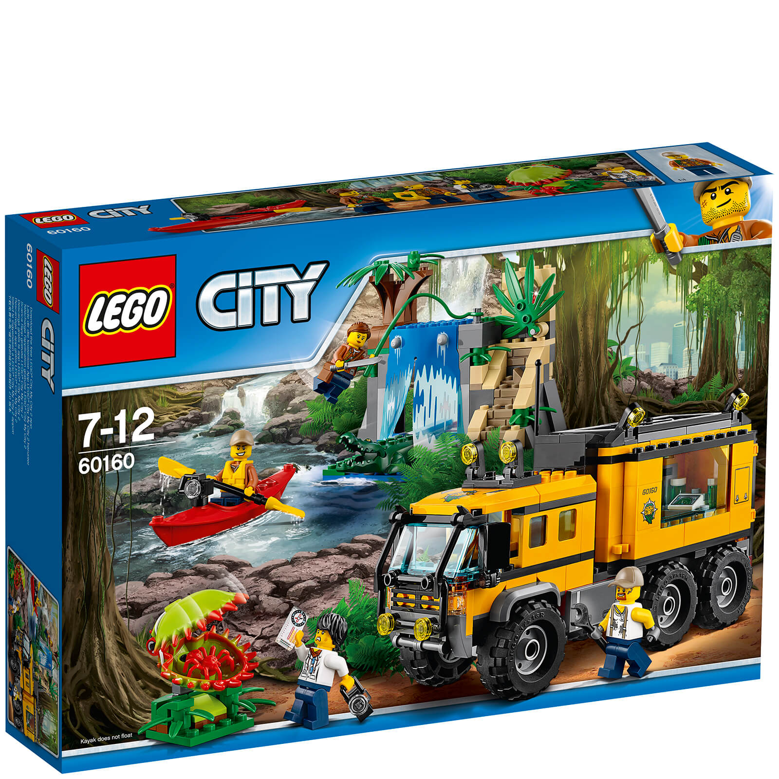 LEGO City: Le laboratoire mobile de la jungle (60160)