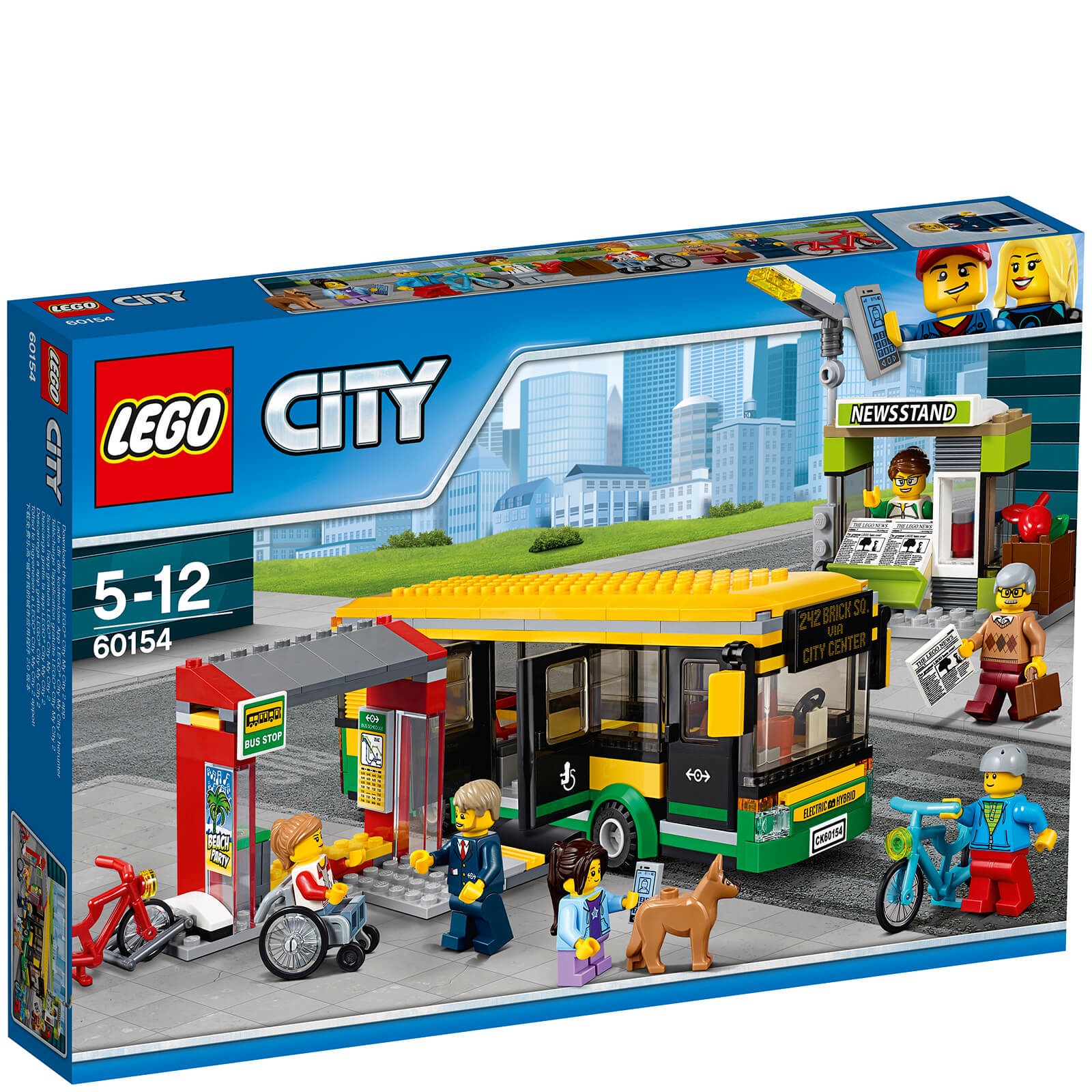LEGO City: Town Bus Station (60154)