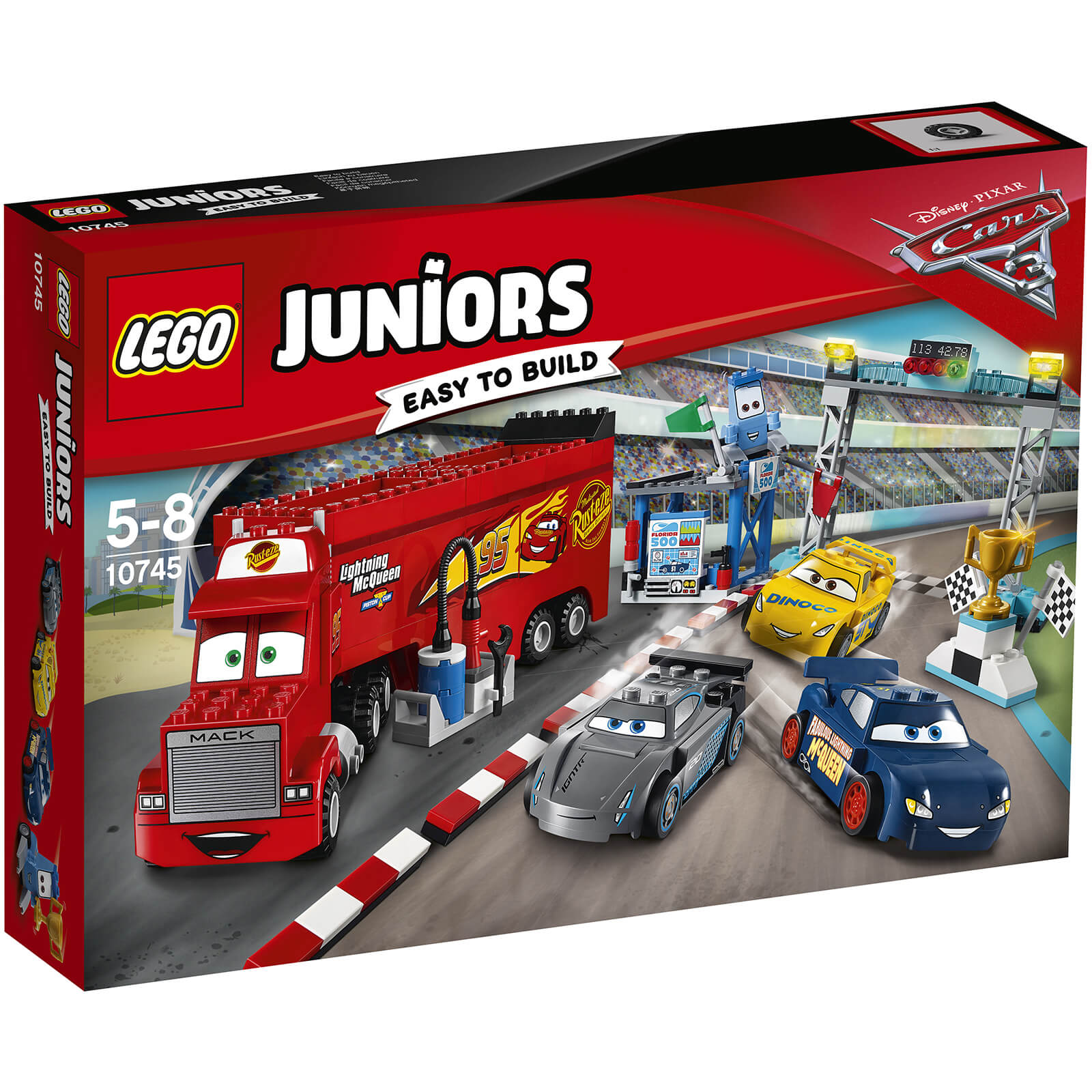 LEGO Juniors Disney Cars 3 2017 16 (10745)