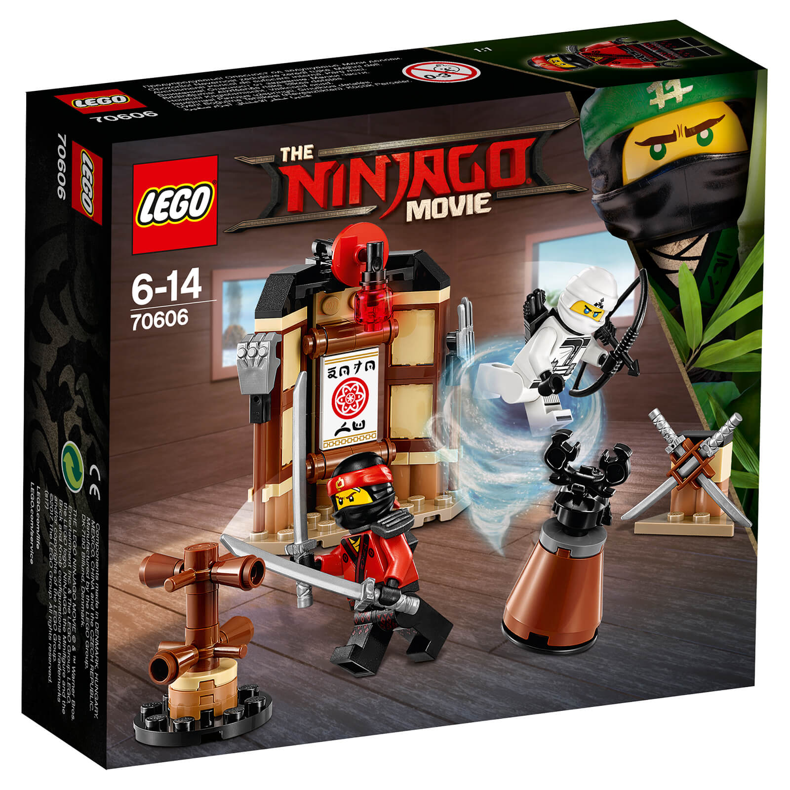 The LEGO Ninjago Movie: Spinjitzu Training (70606)