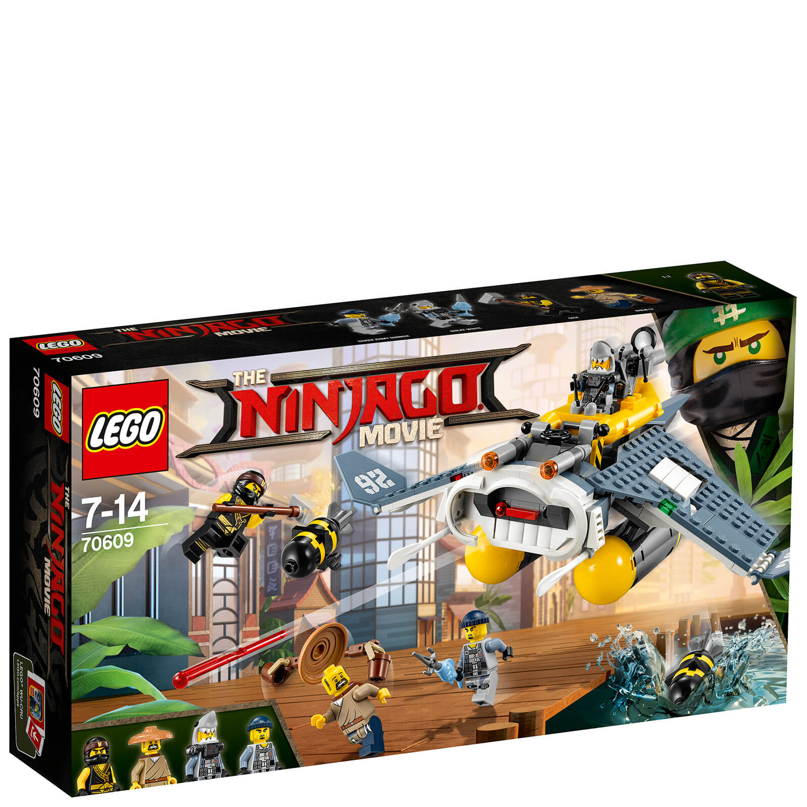 The LEGO Ninjago Movie: Manta Ray Bomber (70609)