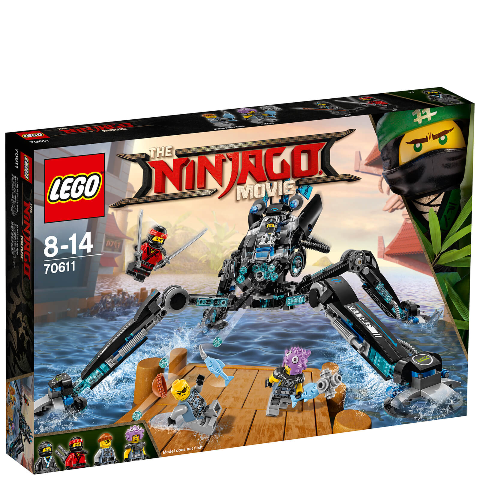 The LEGO Ninjago Movie: L
