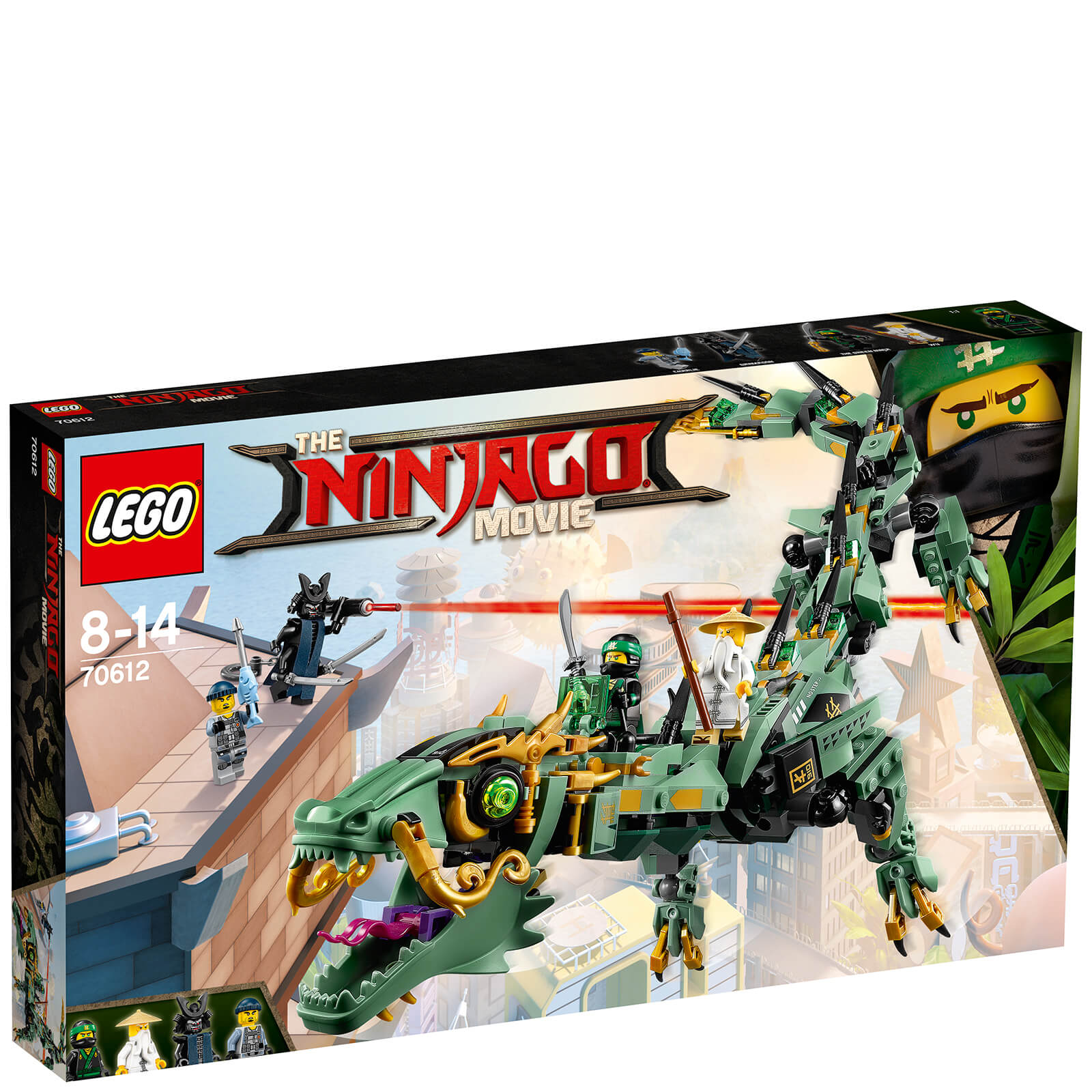 The LEGO Ninjago Movie: Green Ninja Mech Dragon (70612)