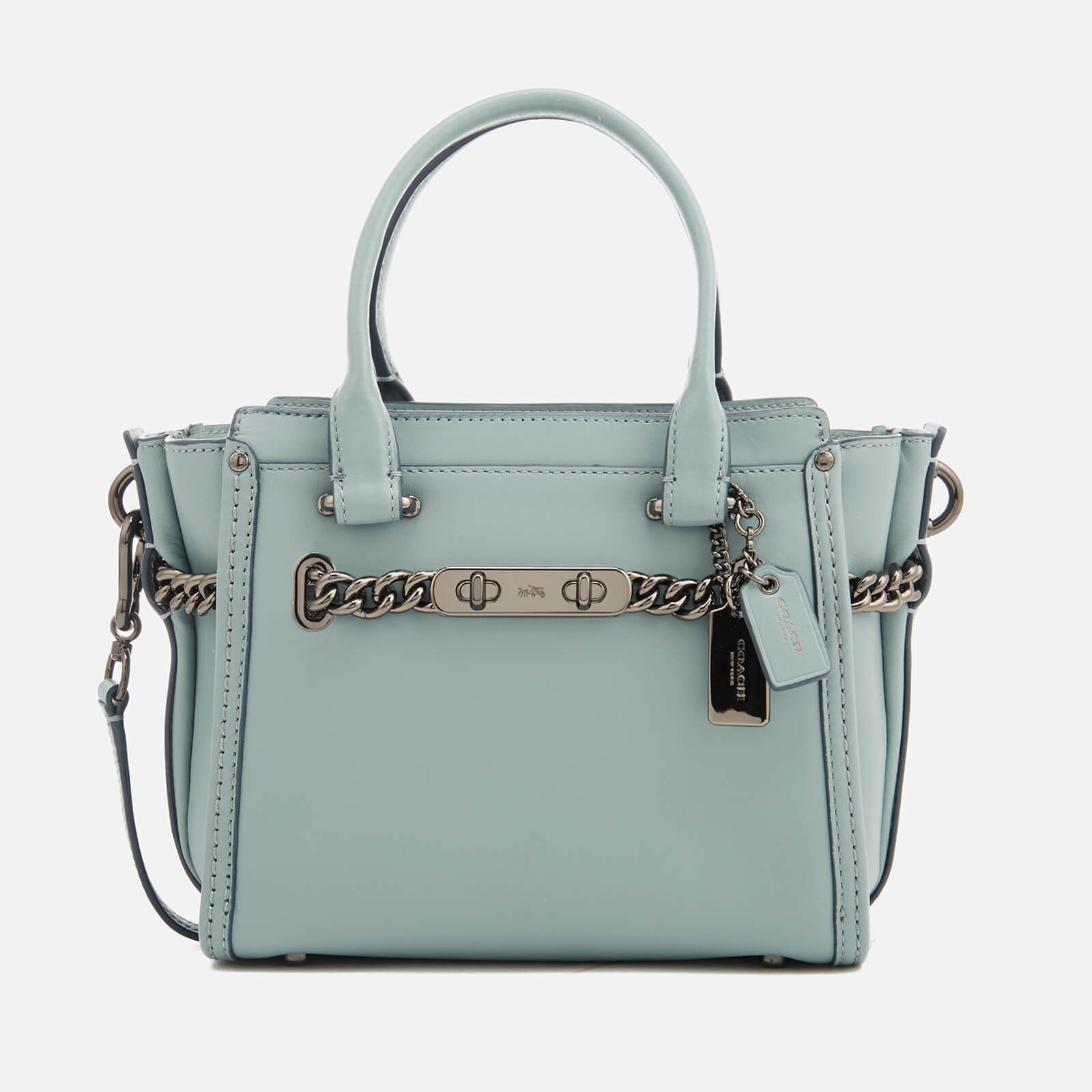d09783e3c Coach Women's Swagger 21 Tote Bag - Cloud - Free UK Delivery over £50
