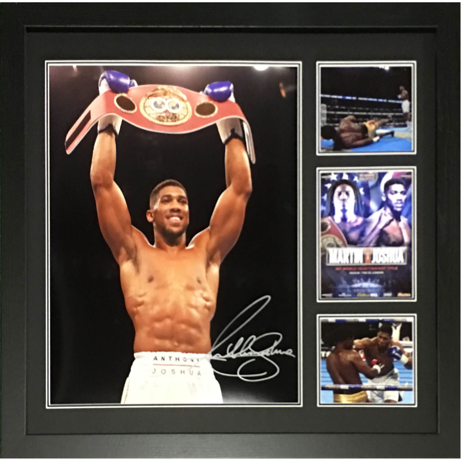 Anthony Joshua Signed and Framed 16 x 20 Photograph