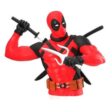 Marvel Bust Coin Bank - Deadpool (Version 2)
