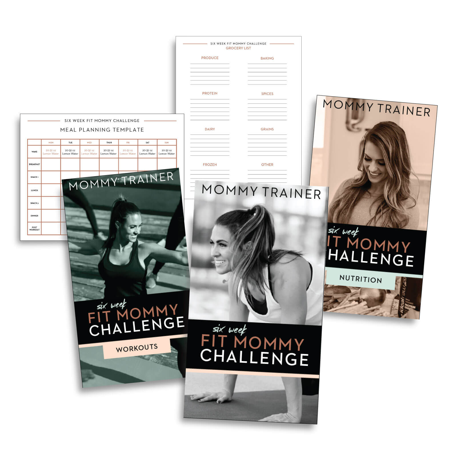 Mommy Trainer 6 Week Fit Mommy Challenge eBook