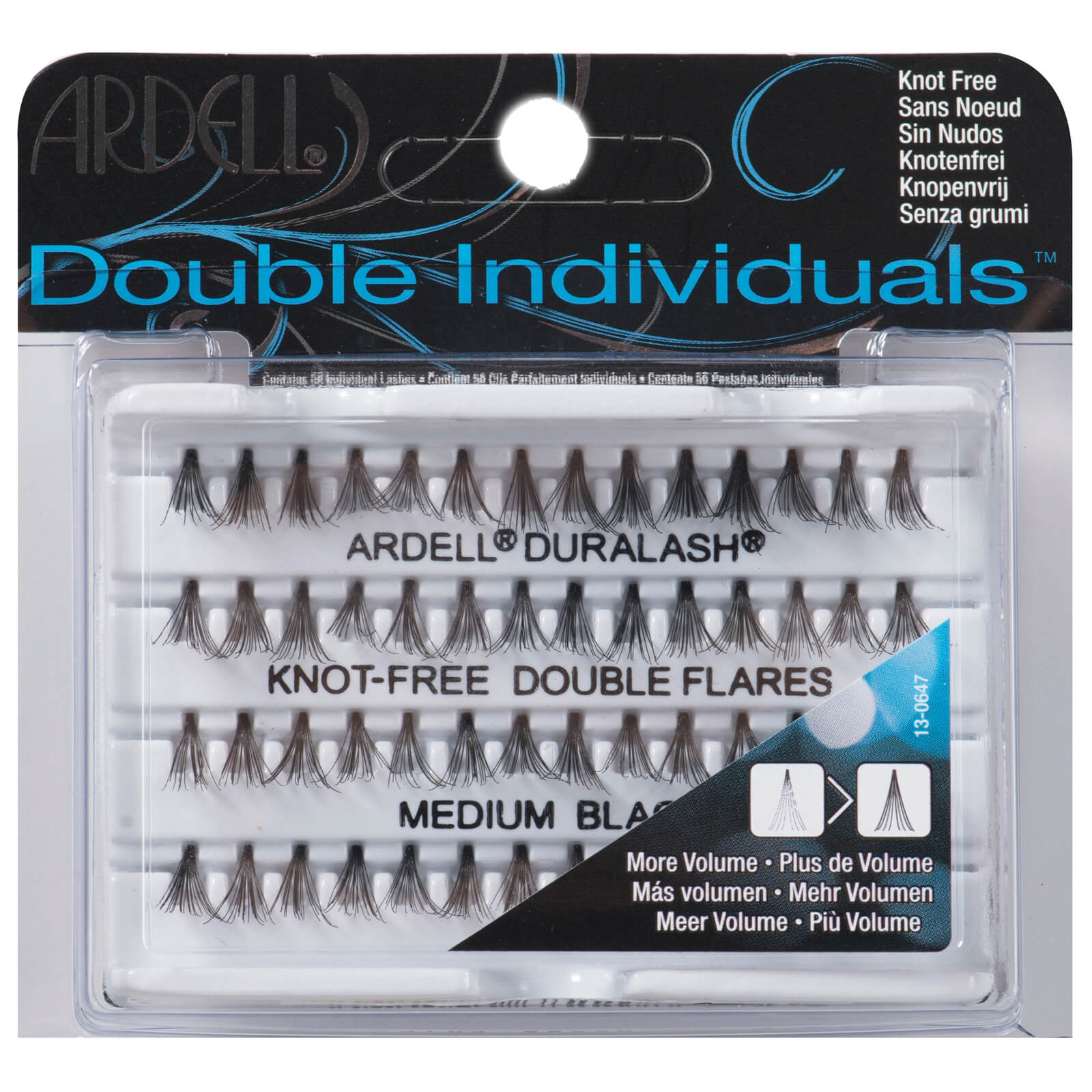 Ardell Double Individual Medium Black Lashes