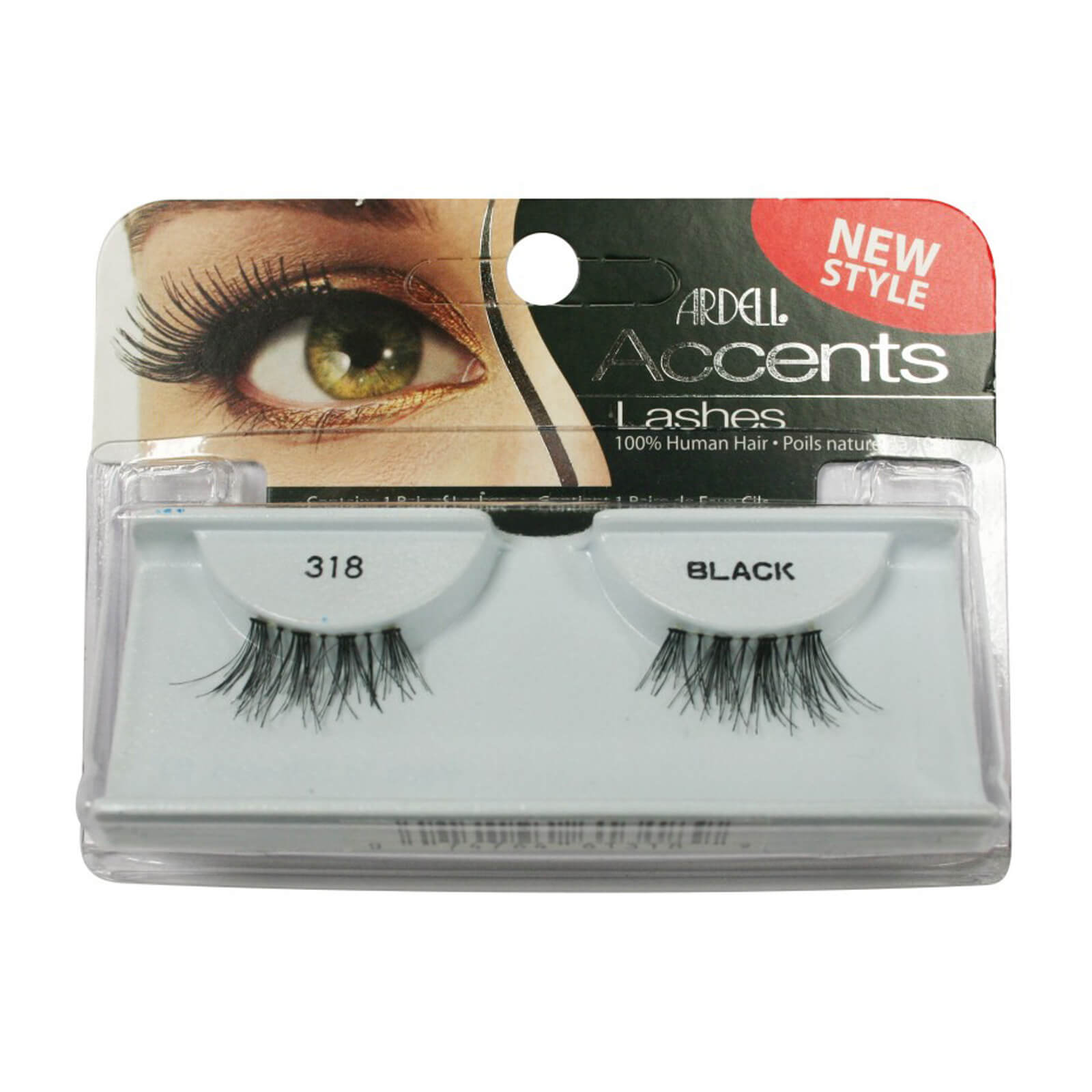d709271b181 Ardell Lashes 318 Accents Black | Buy Online At RY