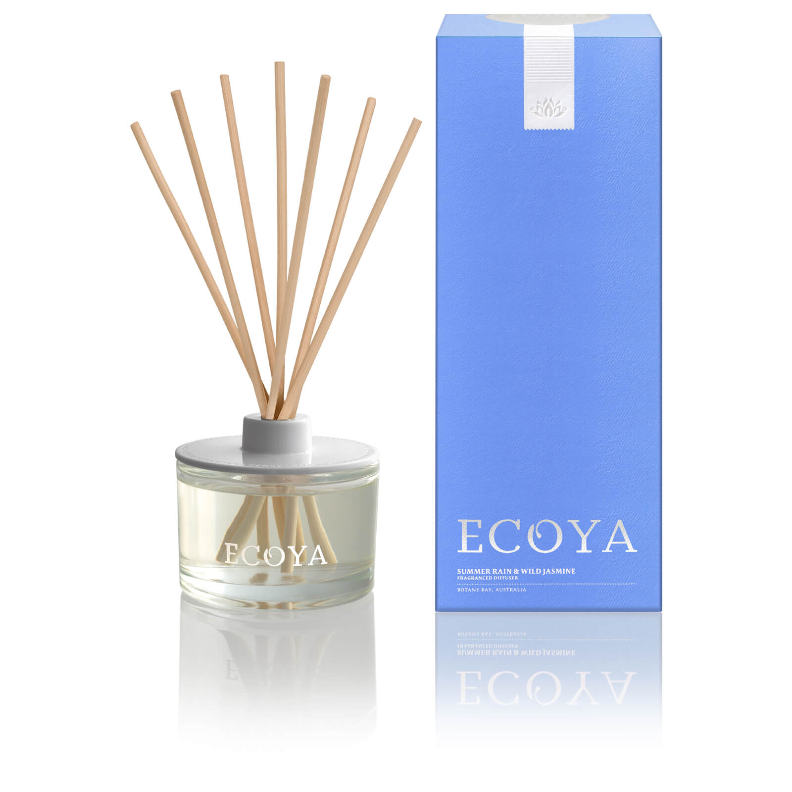 Ecoya Summer Rain And Wild Jasmine Diffuser 200ml Limited Edition