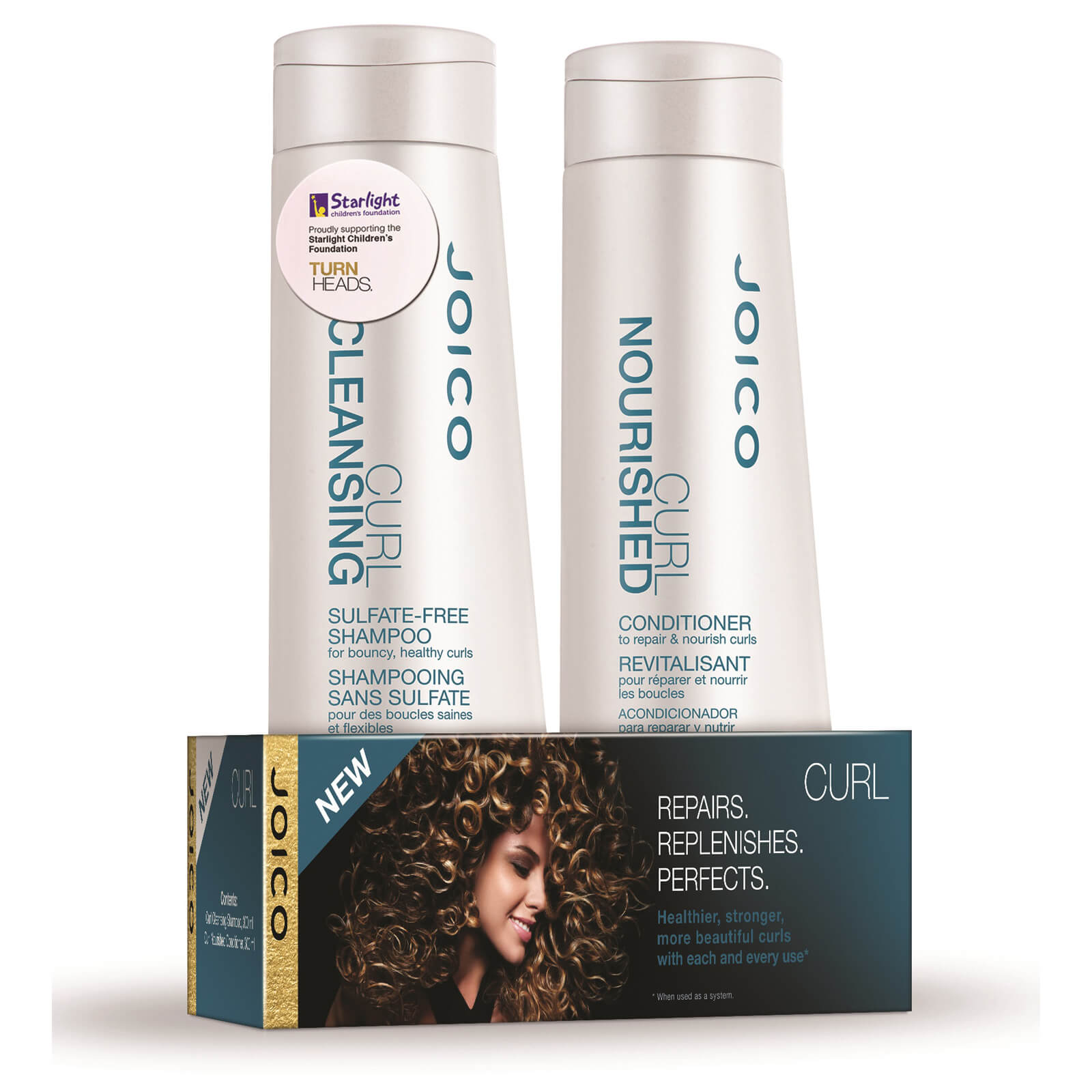 Joico Curl Shampoo And Conditioner Duo Pack 2 x 300ml