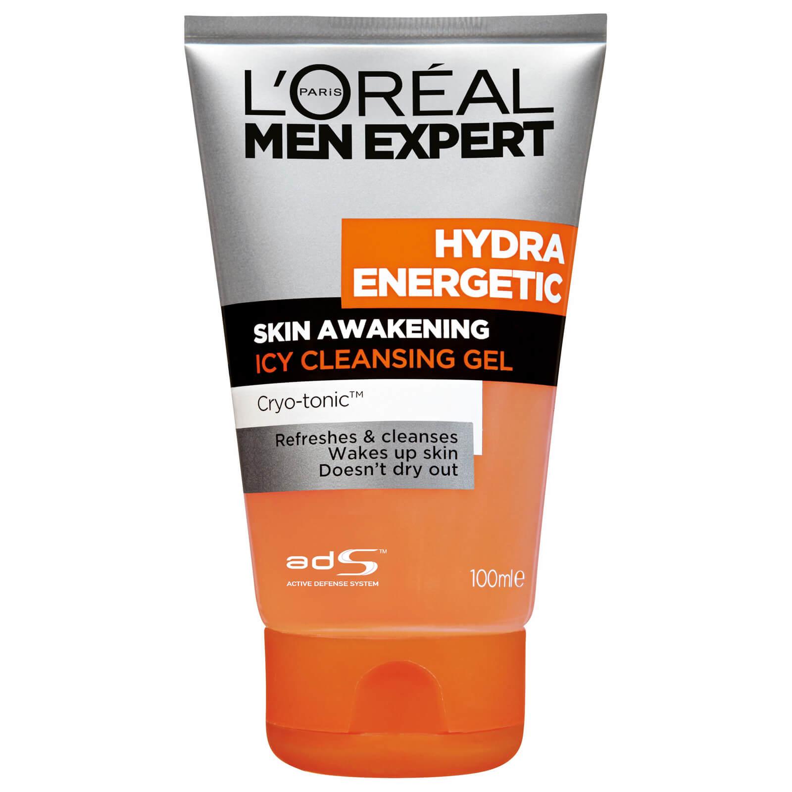 L'Oréal Paris Men Expert Hydra Energetic Skin Awakening Icy Cleansing Gel  100ml
