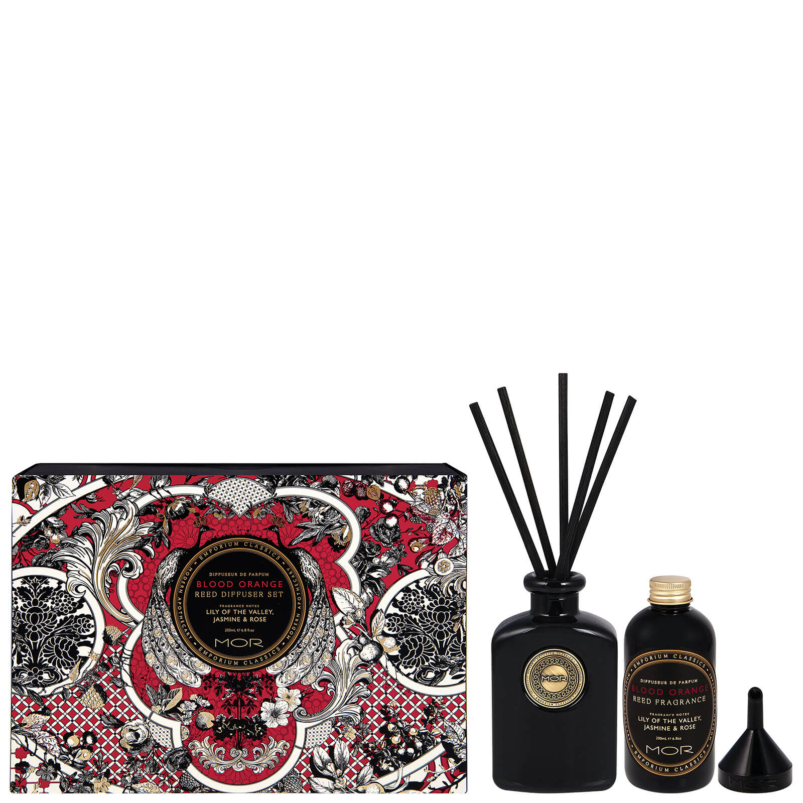 MOR Blood Orange Home Diffuser Kit 200ml