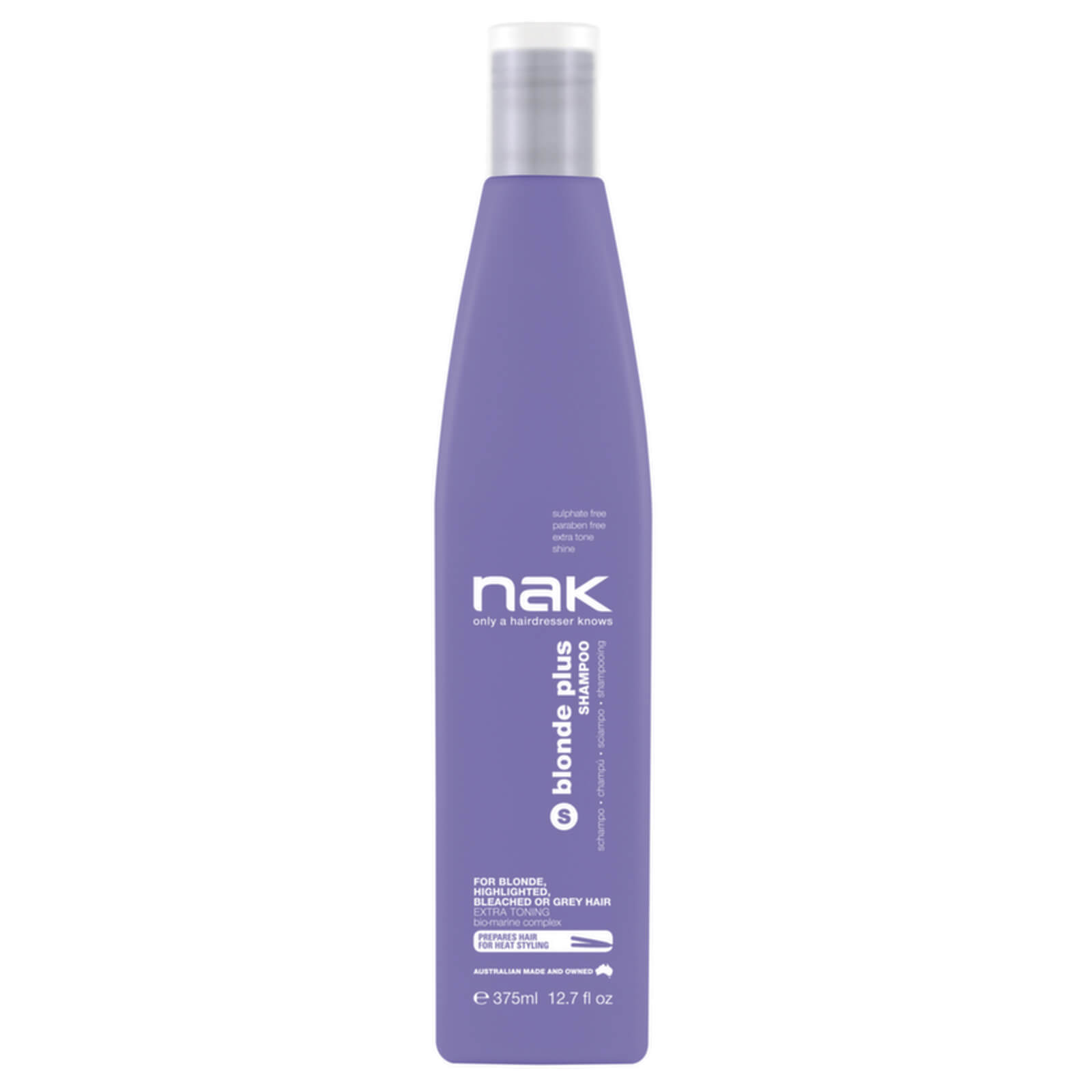 Nak Blonde Plusshampoo 375ml Buy Online At Ry Garnier Pure Active Acne Care Whitening Cream 20ml Description