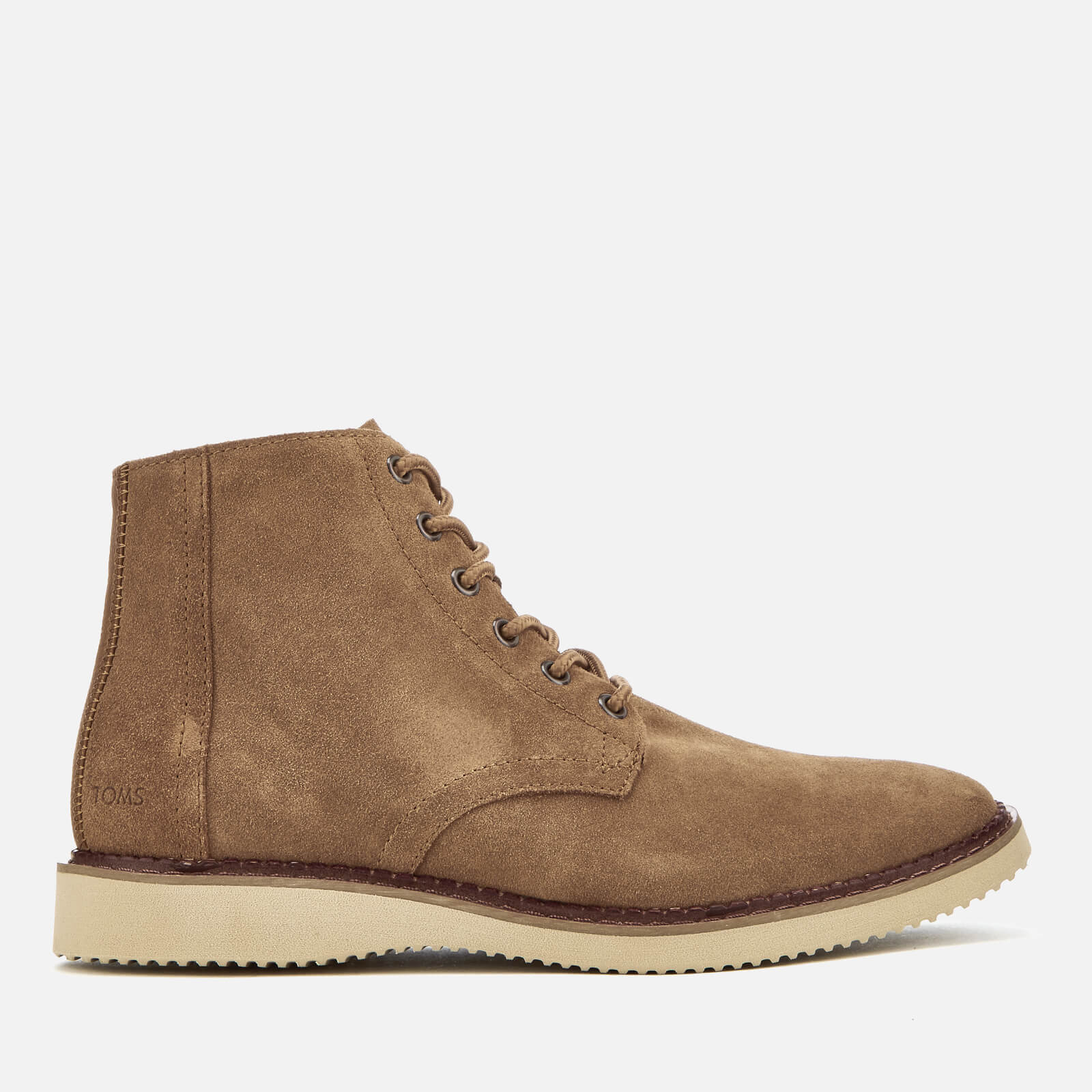 dbdad52644c TOMS Men's Porter Suede Lace Up Boots - Toffee