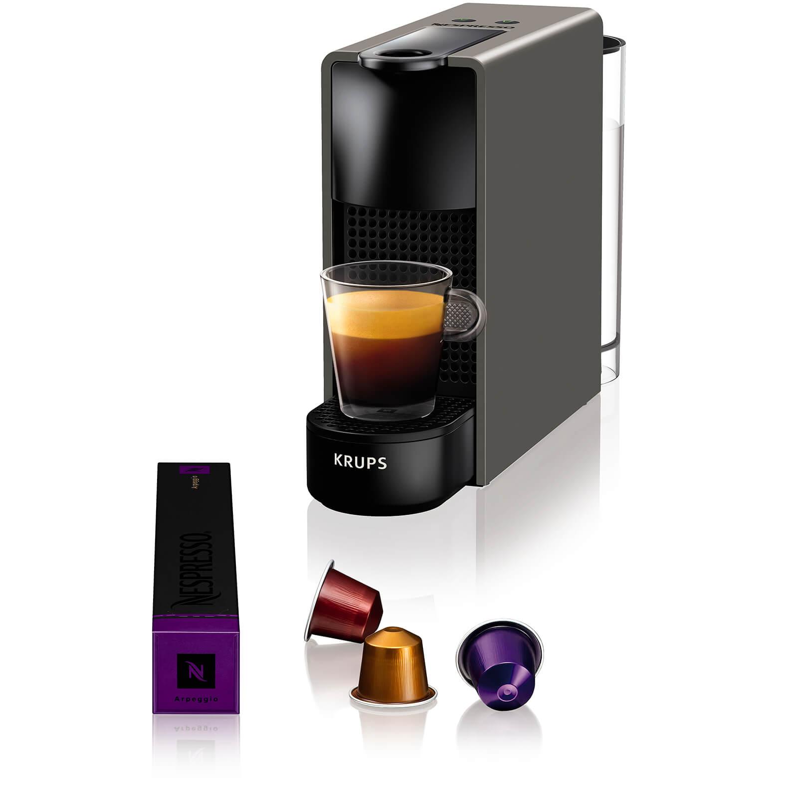 nespresso by krups xn110b40 essenza mini coffee machine. Black Bedroom Furniture Sets. Home Design Ideas