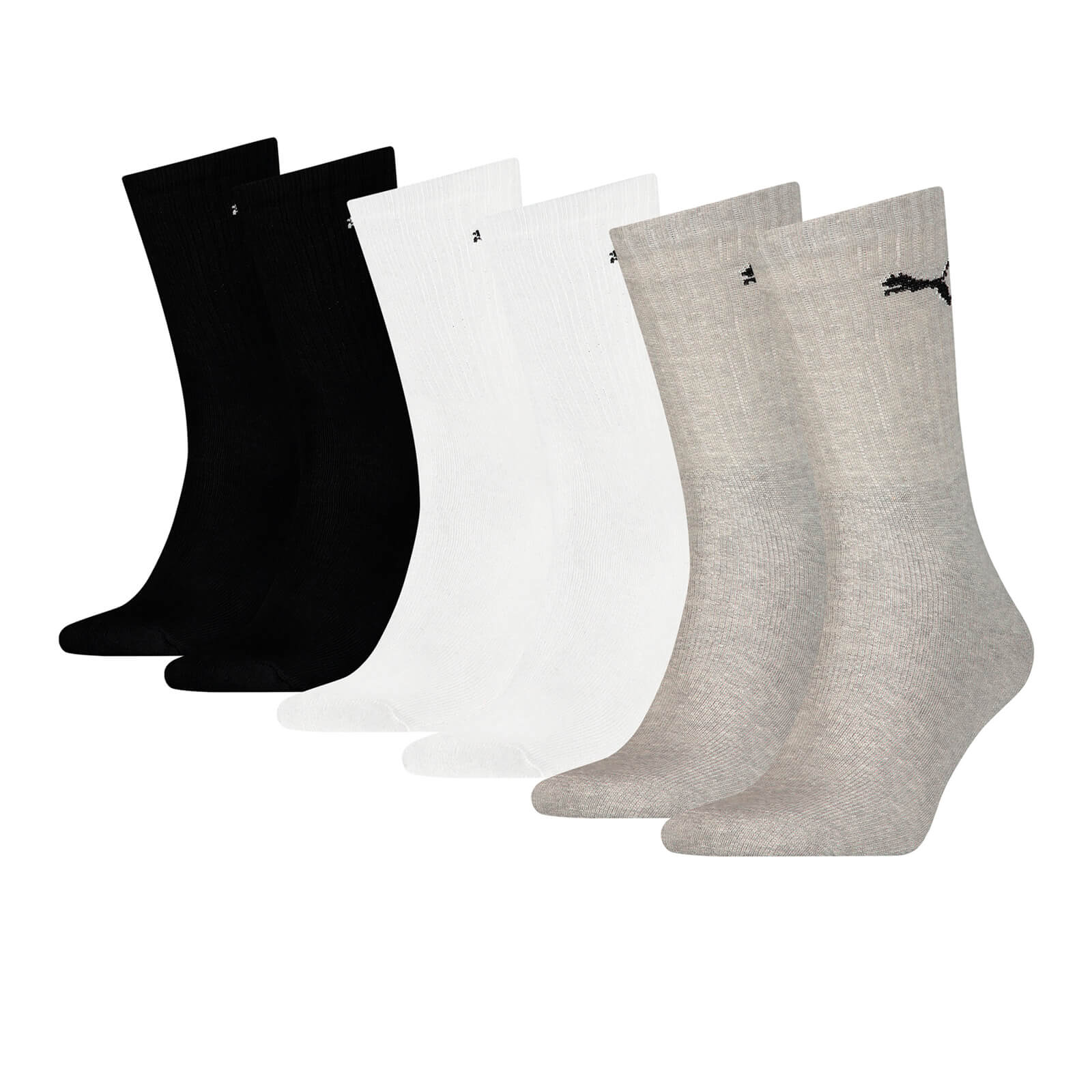 586a778f1 Pack de 6 calcetines Puma - Hombre - Multicolor Mens Clothing ...