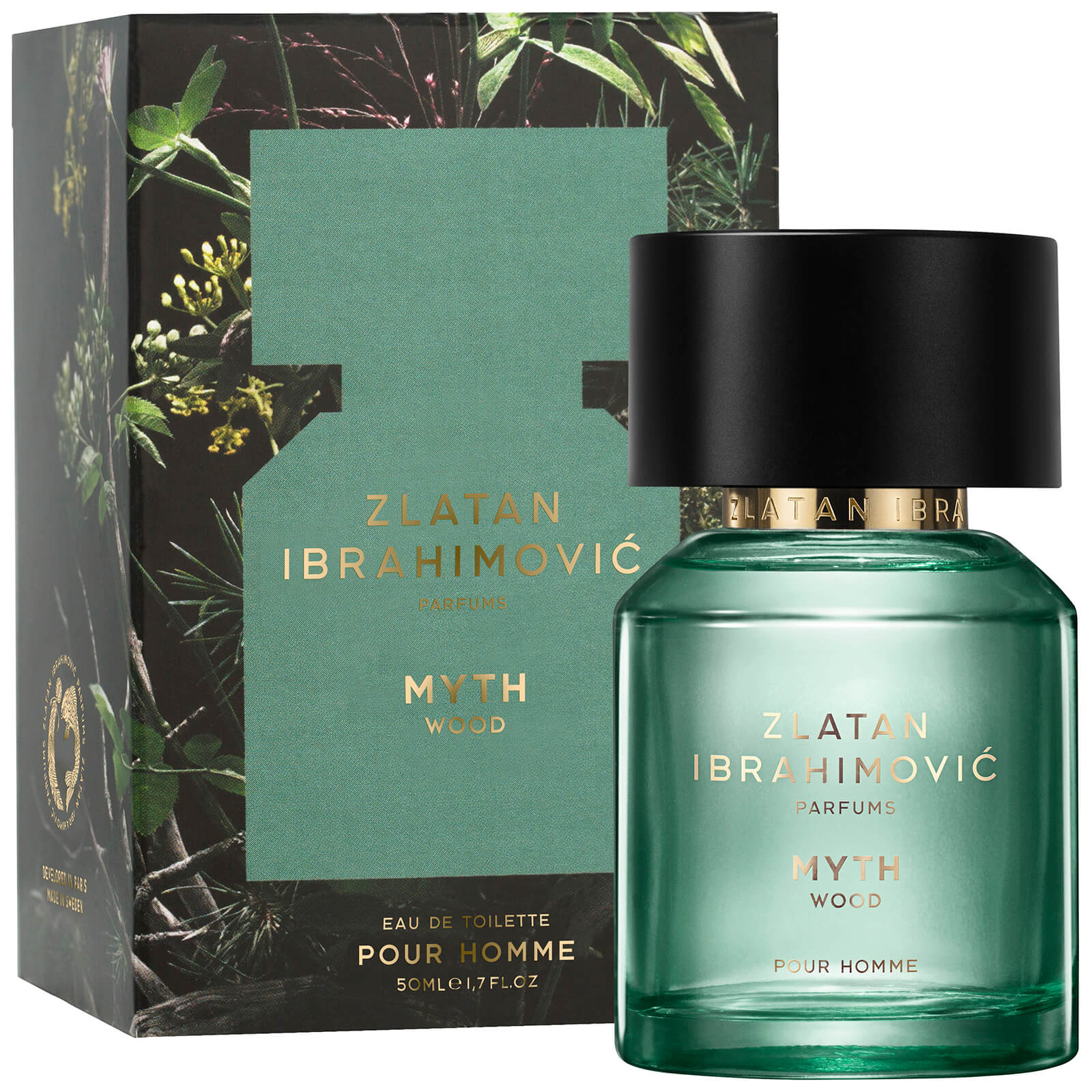 De Ibrahimovic 50ml Wood Zlatan Myth Eau Toilette Parfums Homme dCBerxoW