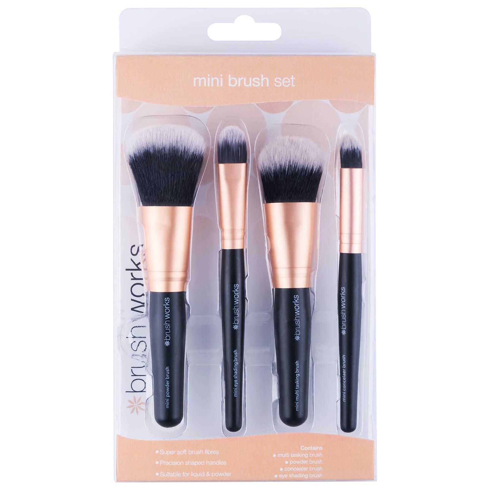 Brushworks Mini Brush Set Free Shipping Lookfantastic Eco Tools 1600 Full Powder Description