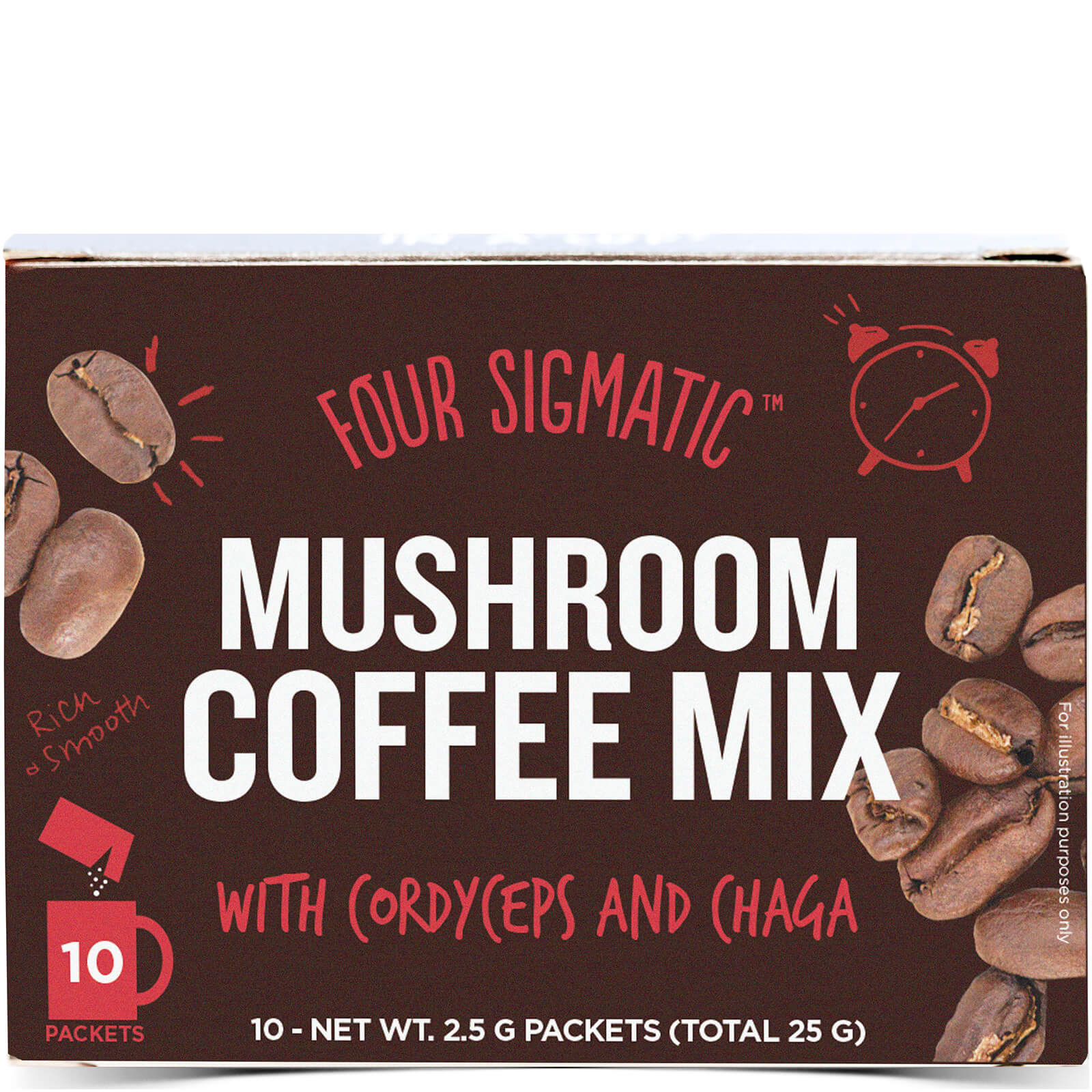 Four Sigmatic Coffee Chaga & Cordyceps (10 Sachets)