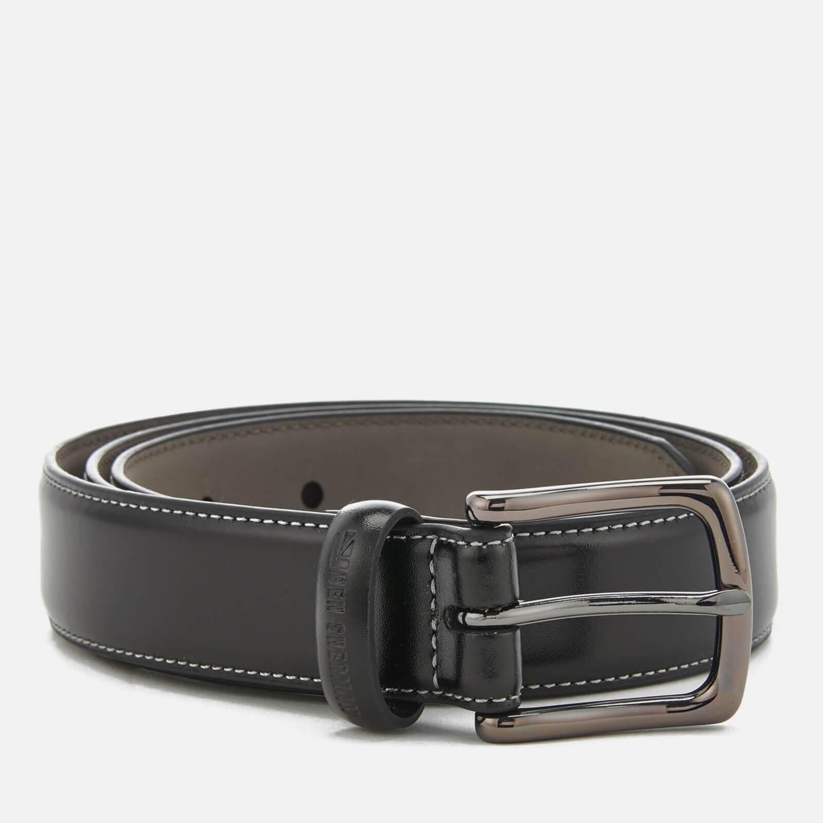 facaa748028a Ben Sherman Men's Leather Vauxhall Belt - Black/Grey Mens ...