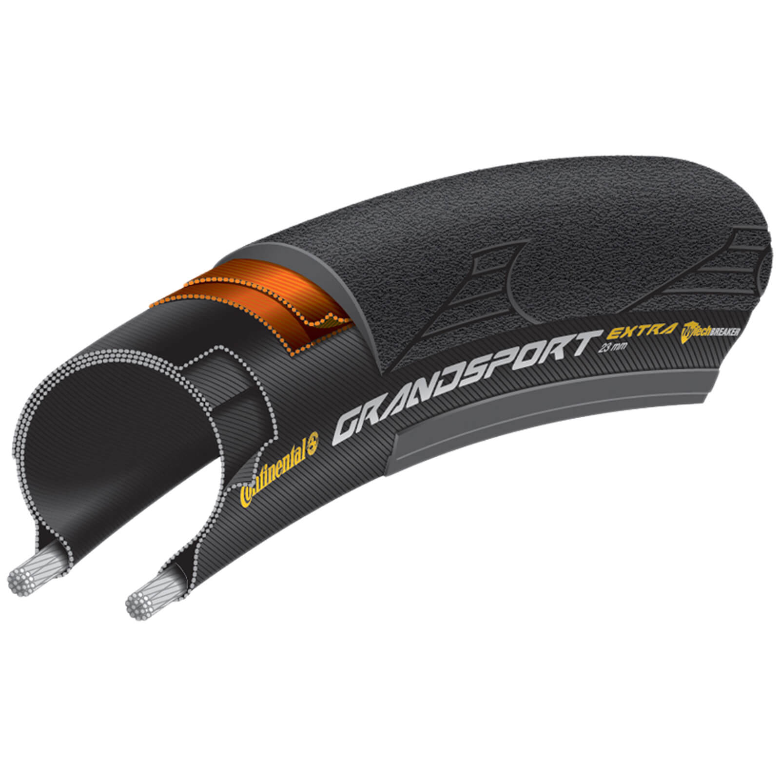 Continental Grand Sport Extra Clincher Tyre