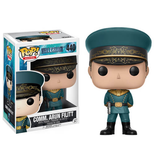 Valerian Commander Arun Filitt Pop! Vinyl Figure