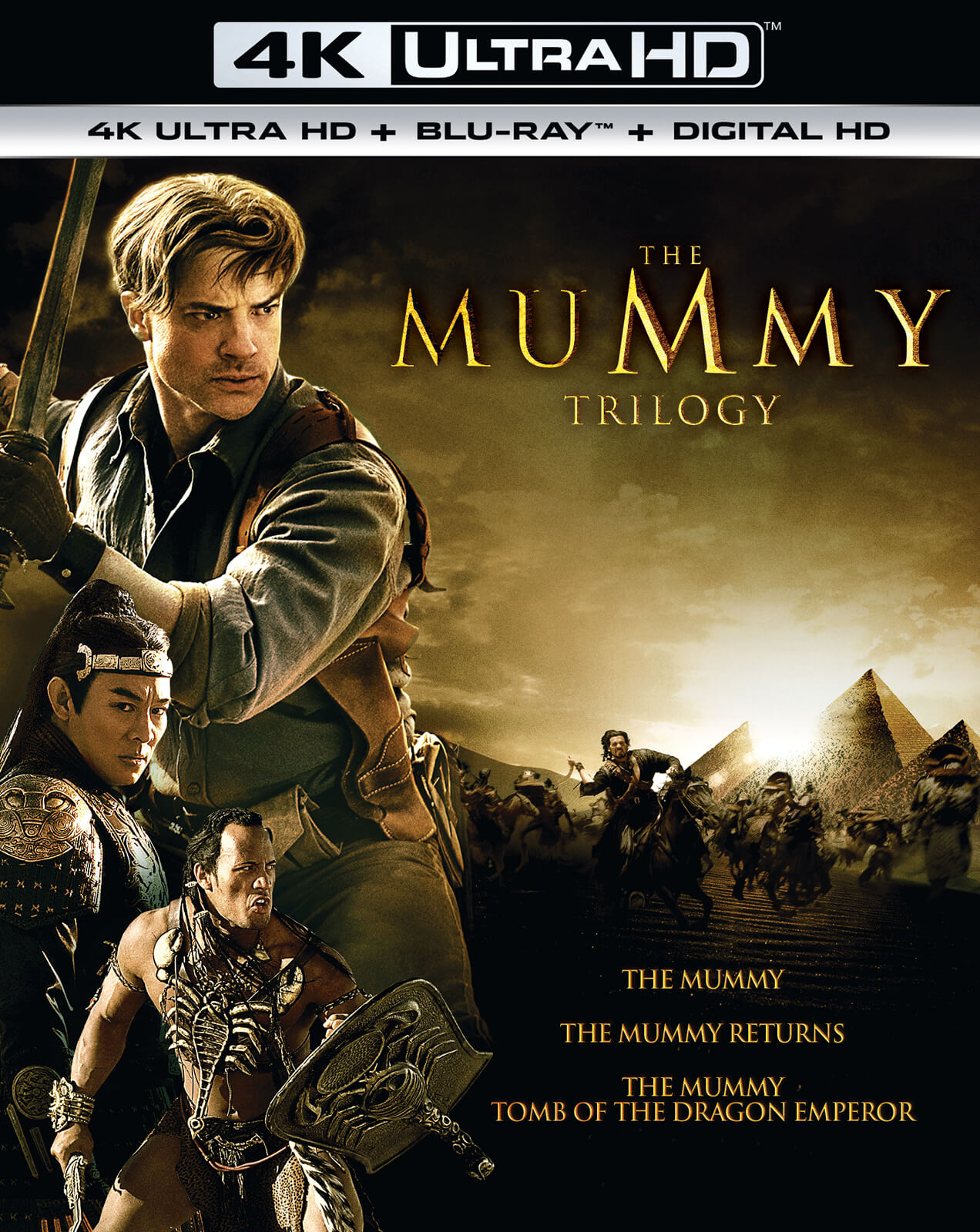 The Mummy Trilogy - 4K Ultra HD