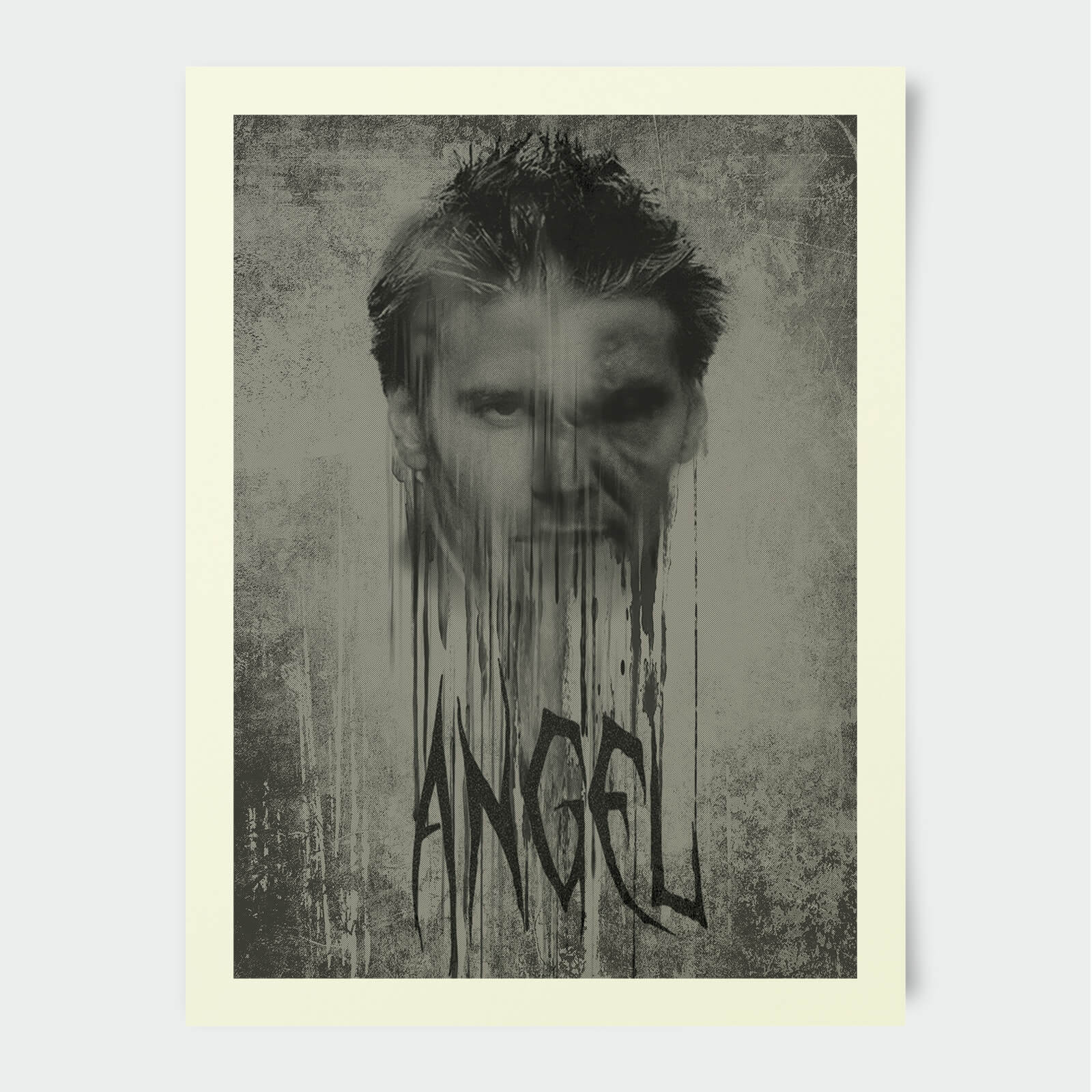 Buffy The Vampire Slayer Angel Stylised 30x40cm Print