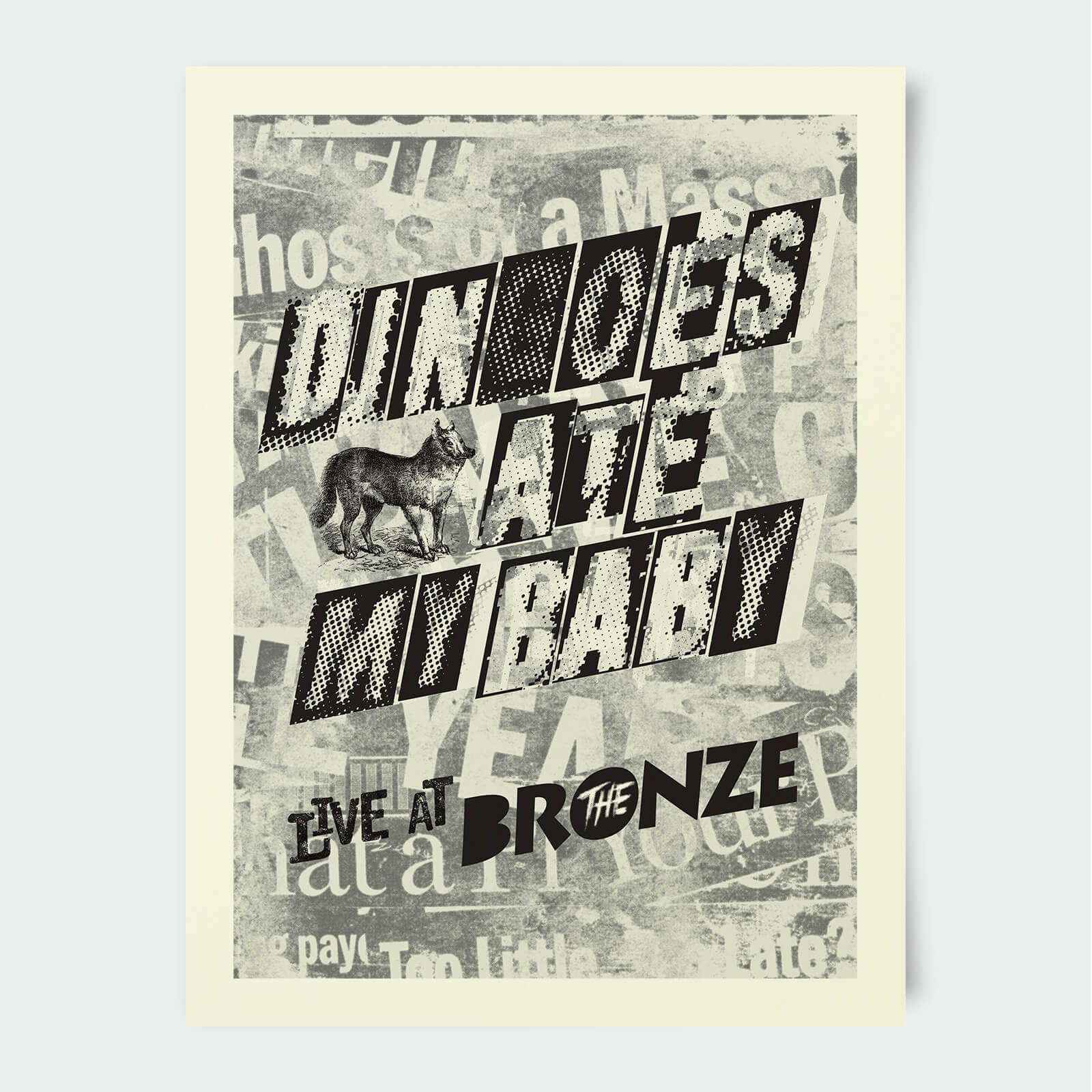 Affiche Dingoes Ate My Baby Live at Bronze -Buffy Contre les Vampires