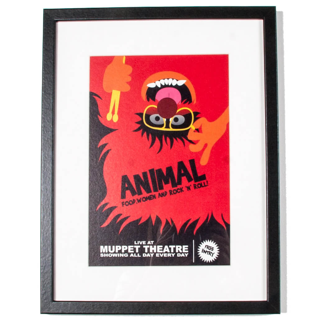 Disney Animal Gallery Framed Printed Wall Art