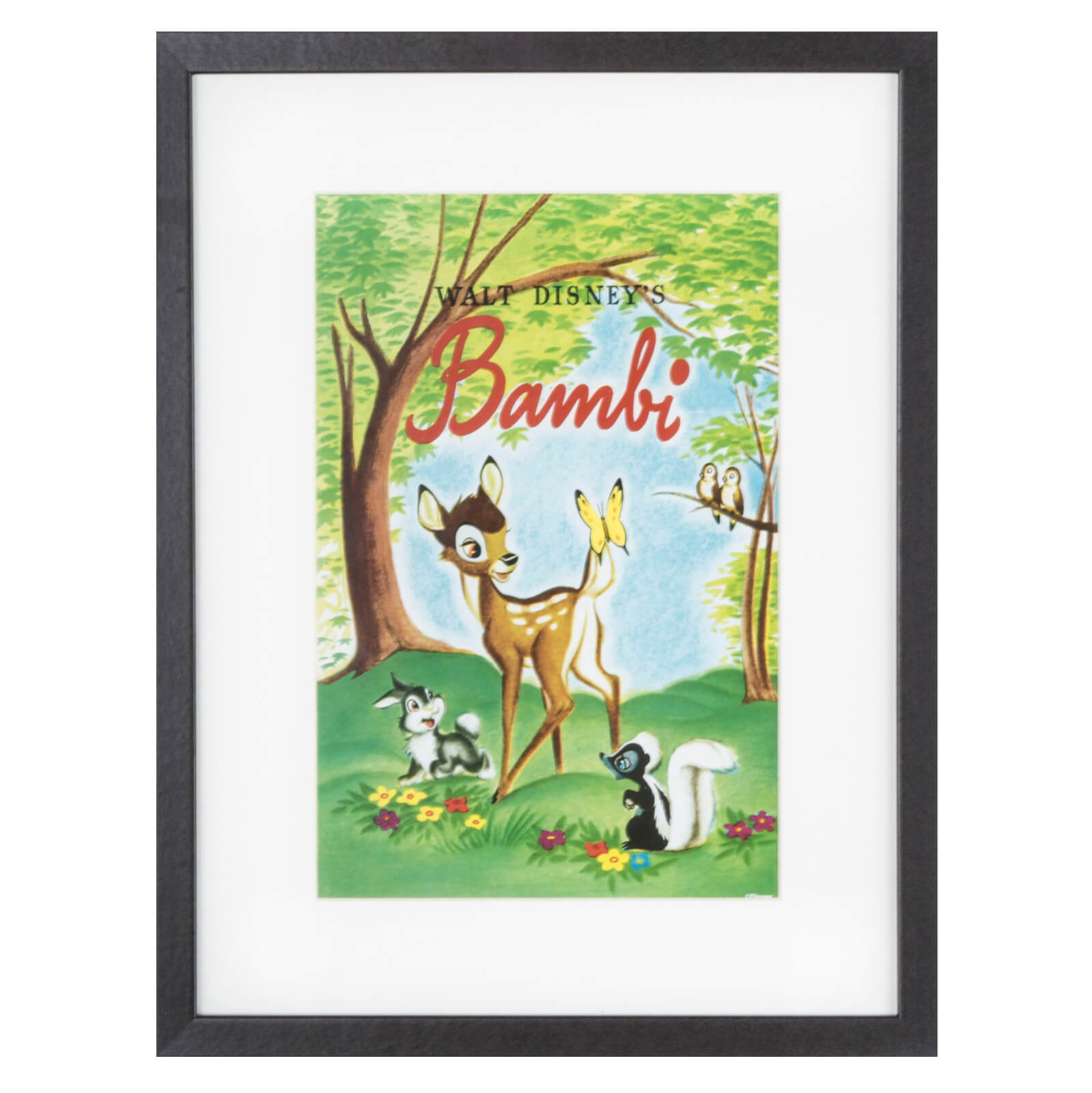 Disney Bambi Cover Gallery Framed Printed Wall Art