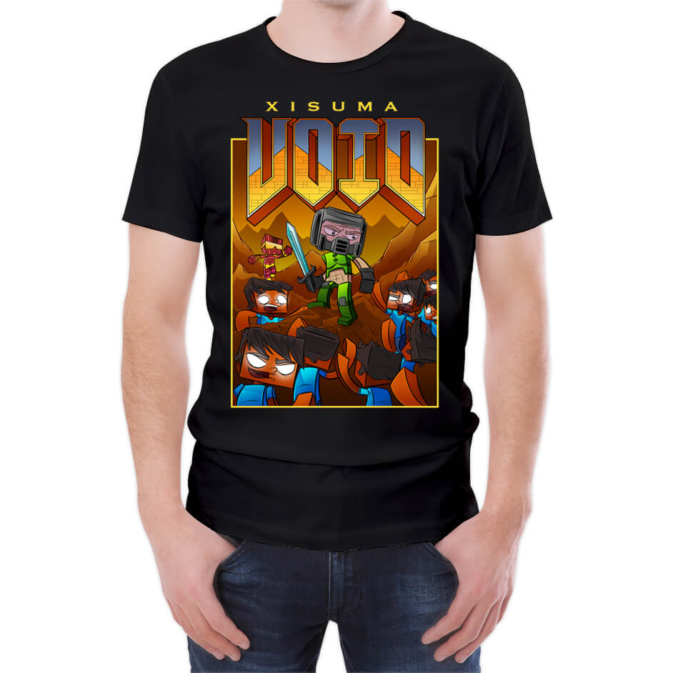 Xisuma DoomVoid Black T-Shirt