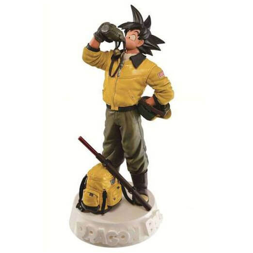 Statuette Son Goku Dragon Ball SCultures - Version Colorée Spéciale