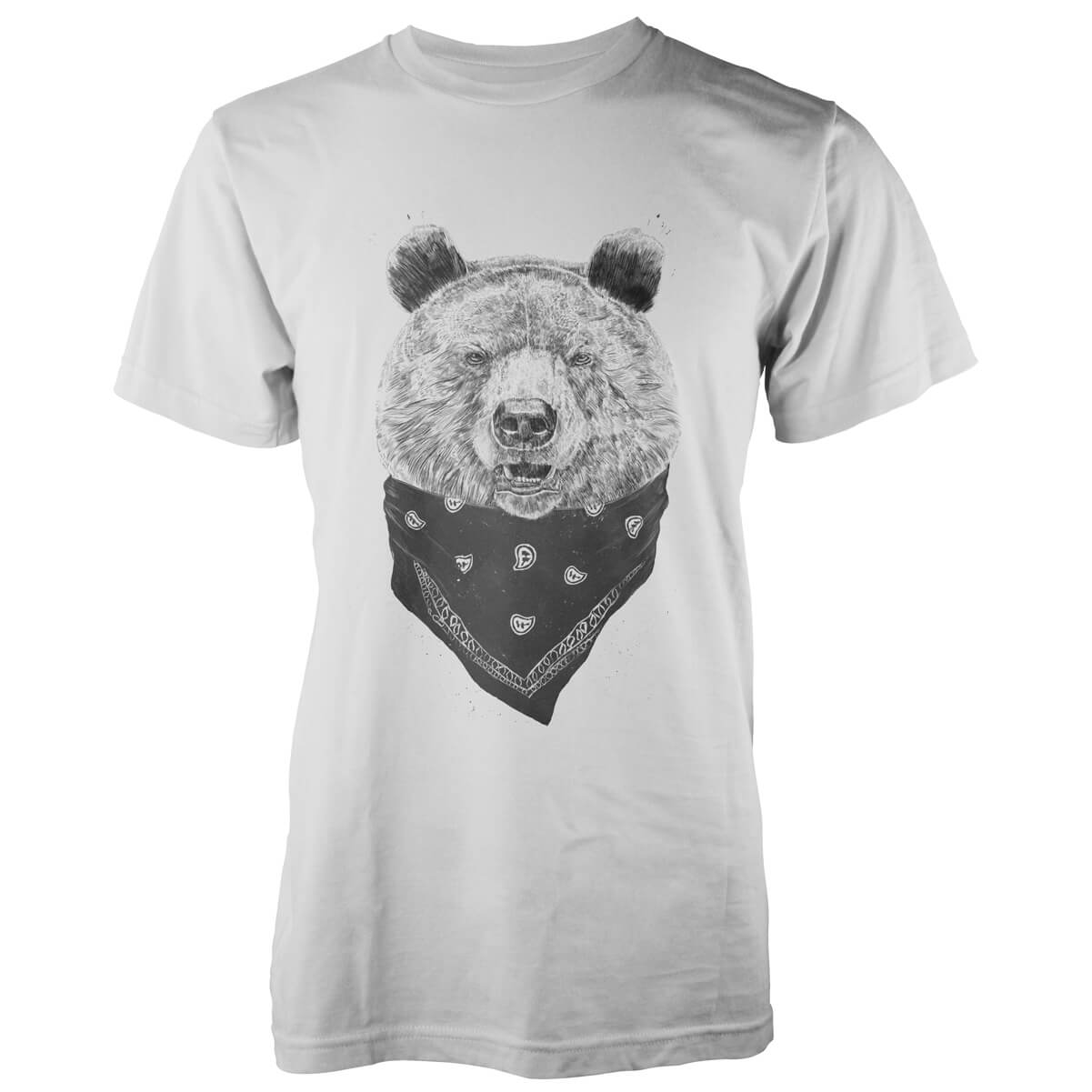 Solti Wild Bear White T-Shirt