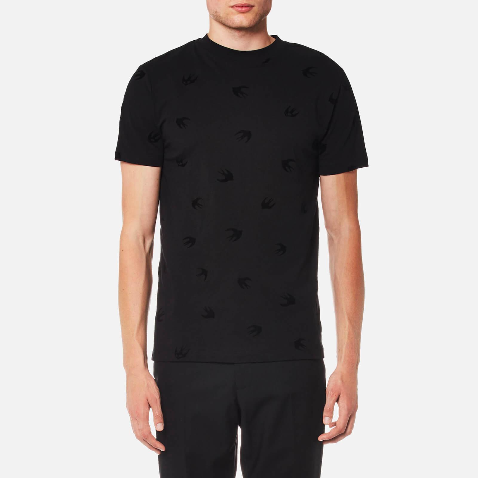 a60f43b4895 McQ Alexander McQueen Men s Swallow T-Shirt - Darkest Black - Free UK  Delivery over £50