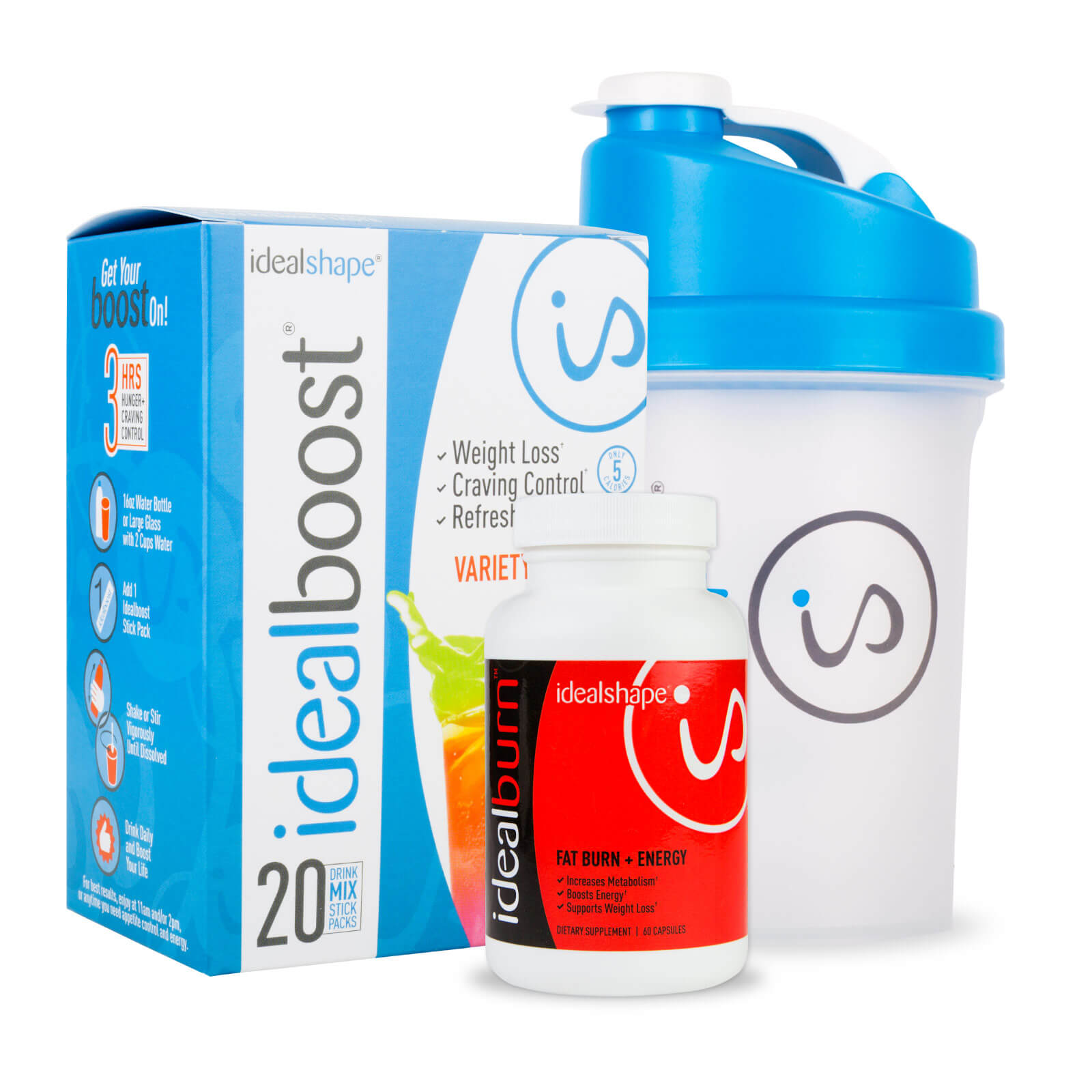 IdealShape Energy and Weight Loss Bundle