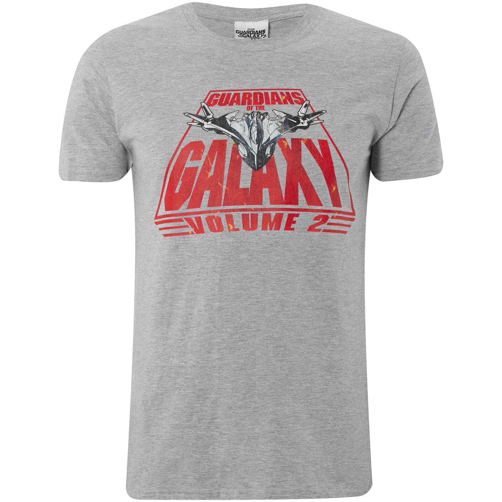 Marvel Guardians of the Galaxy Vol. 2 Milano Heren t-shirt - Grijs