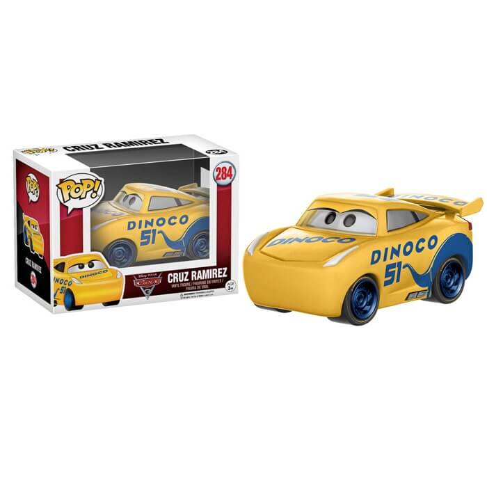 Disney Cars 3 Cruz Pop! Vinyl Figure