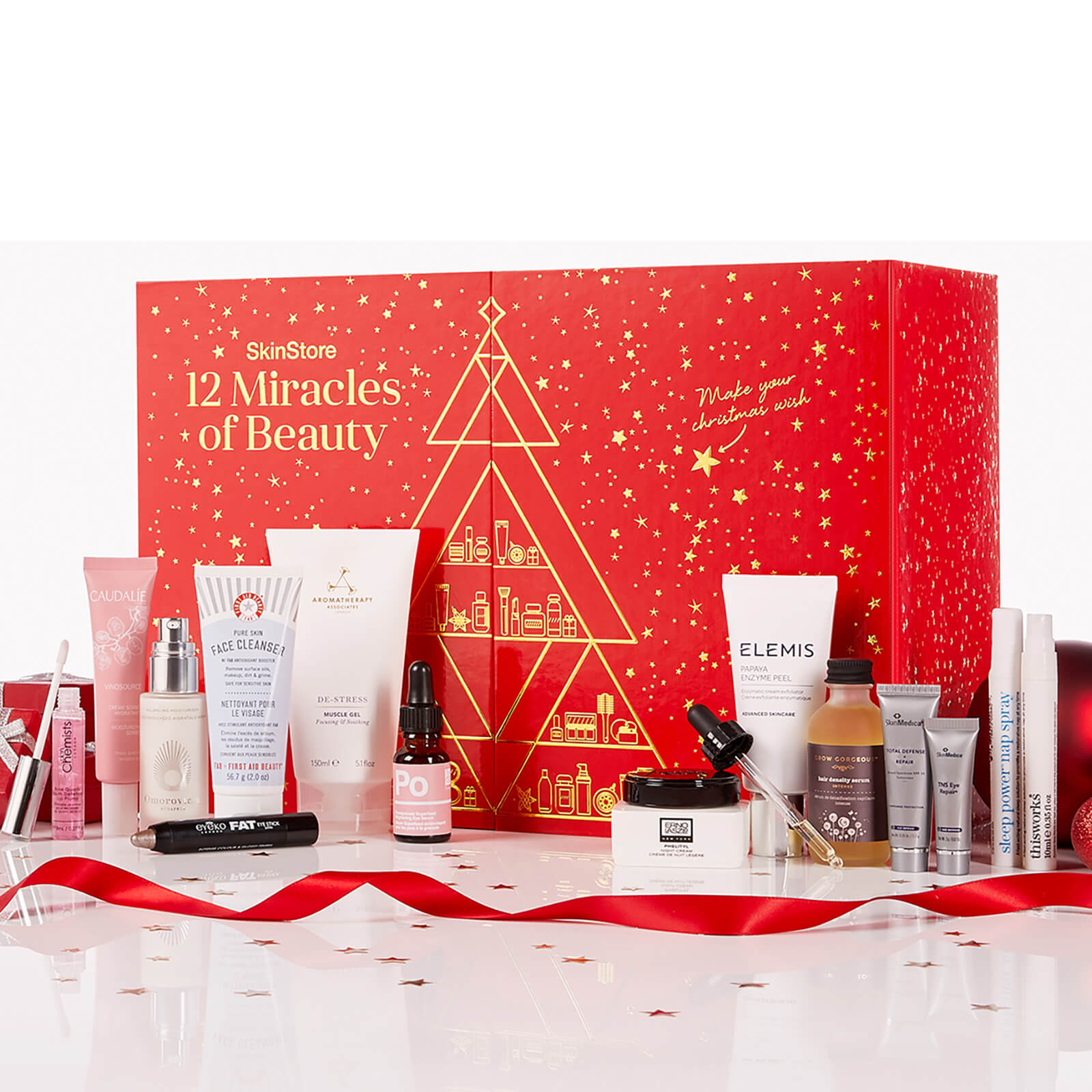 Beauty Advent Calendar.Skinstore S 12 Miracles Of Beauty Worth Over 340