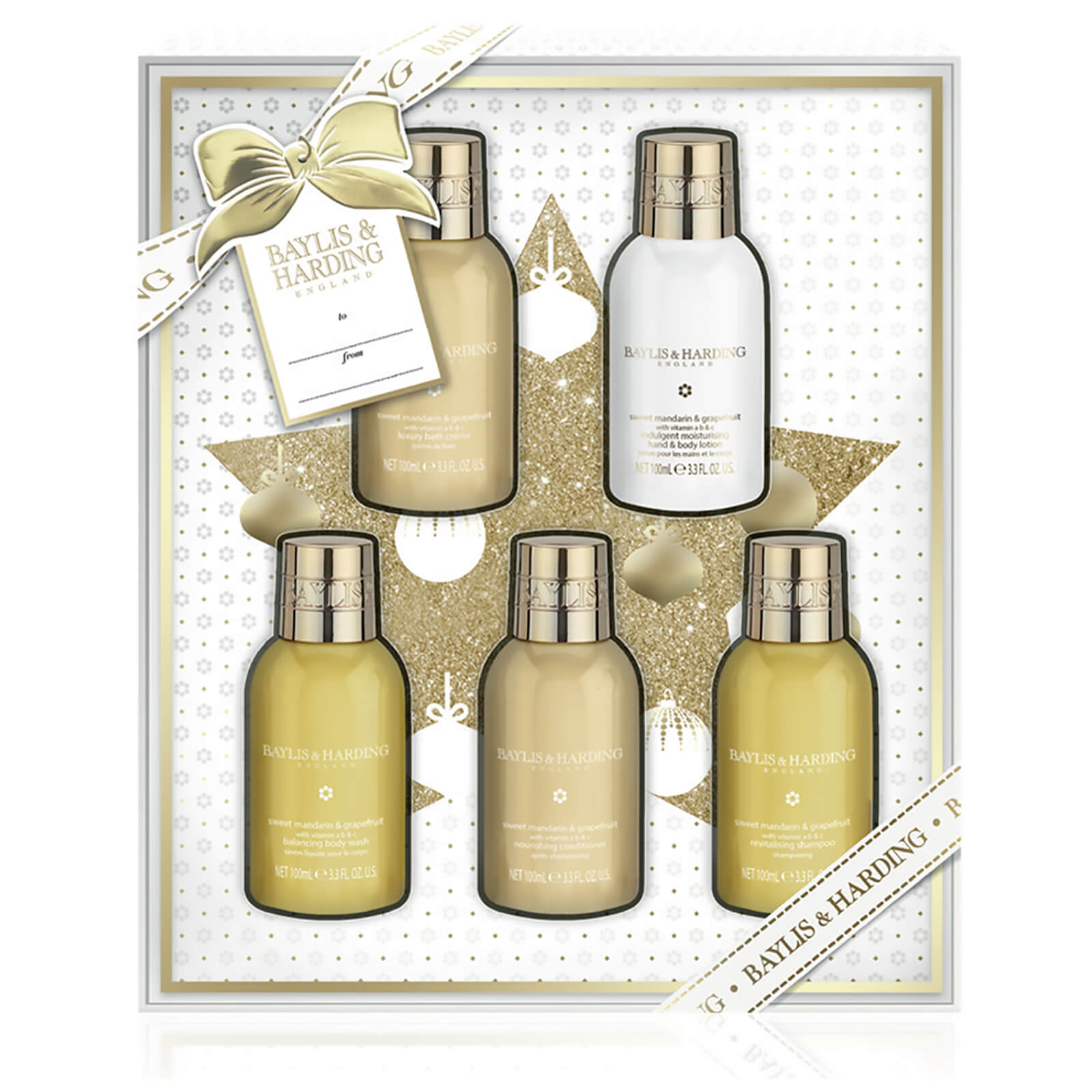 Baylis & Harding Sweet Mandarin and Grapefruit 5 Bottle Set