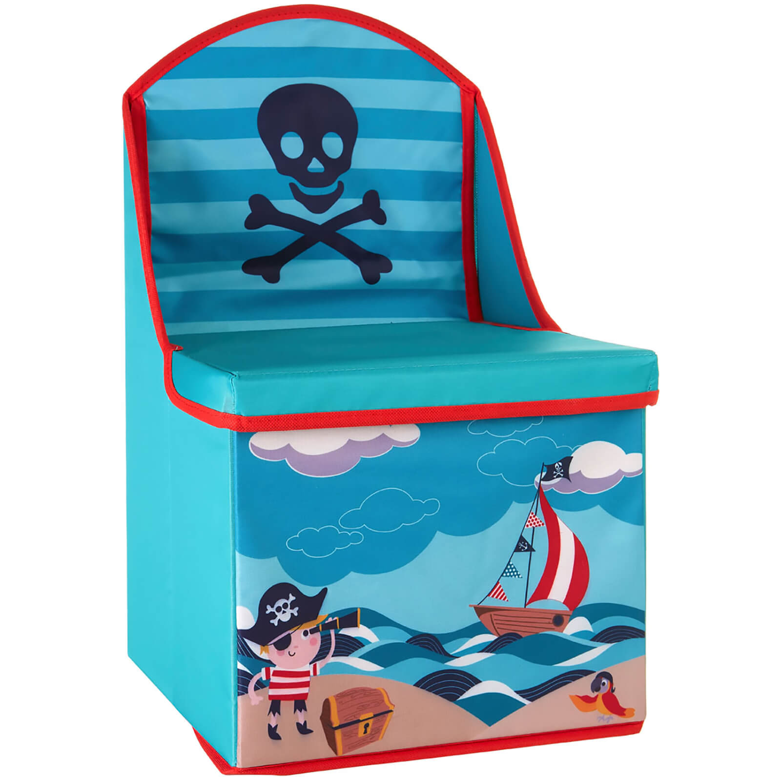 Premier Housewares Pirate Storage Box/Seat