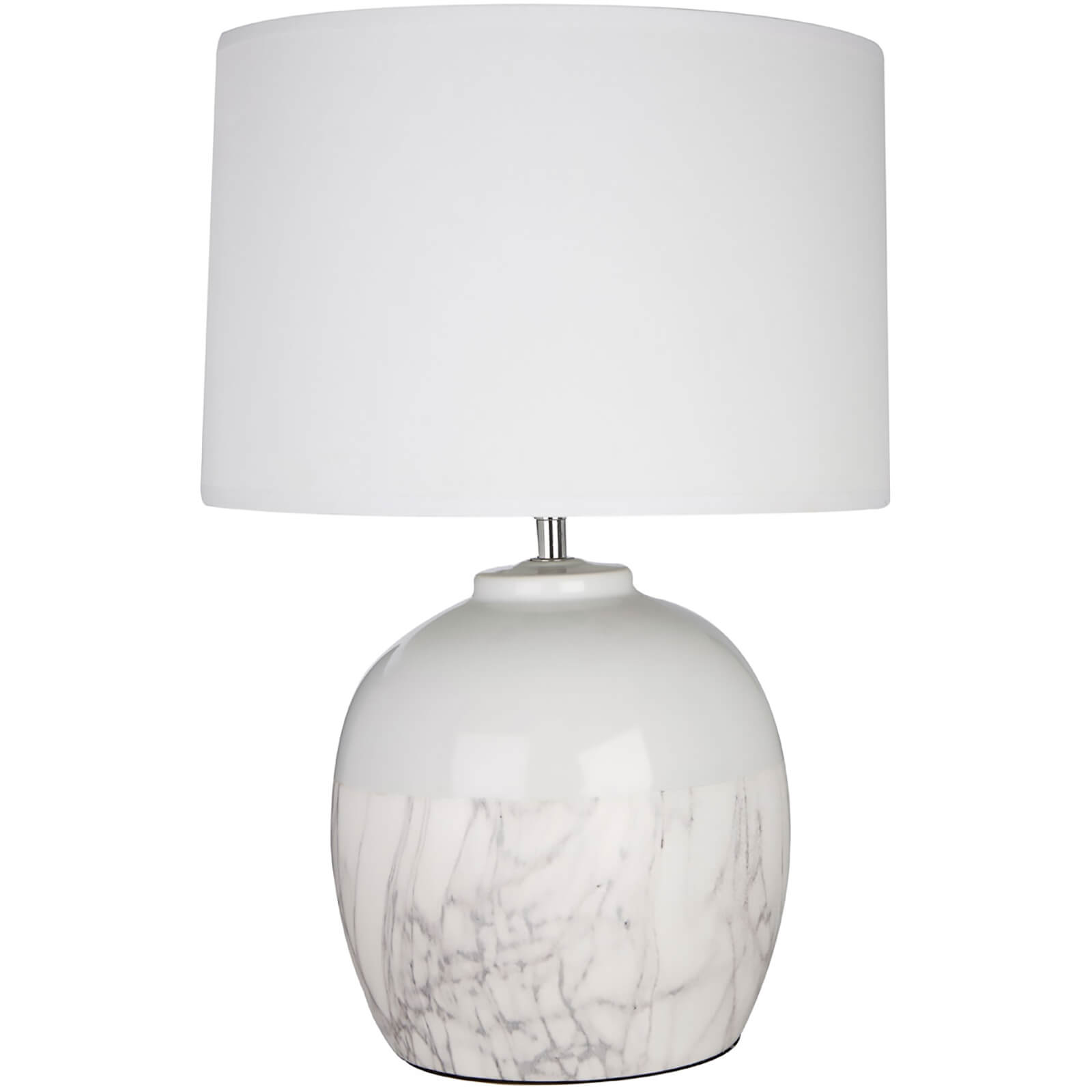 Fifty Five South Whitley Table Lamp - White