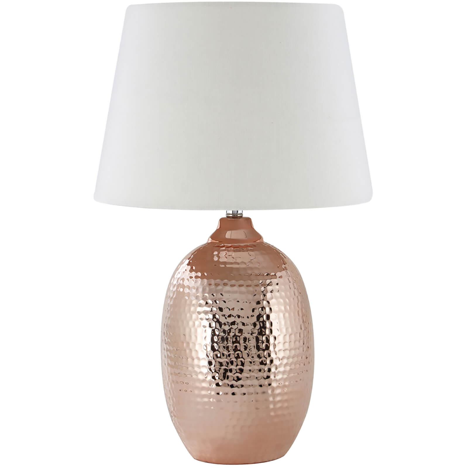 Fifty Five South Jane Table Lamp - Copper/Ivory