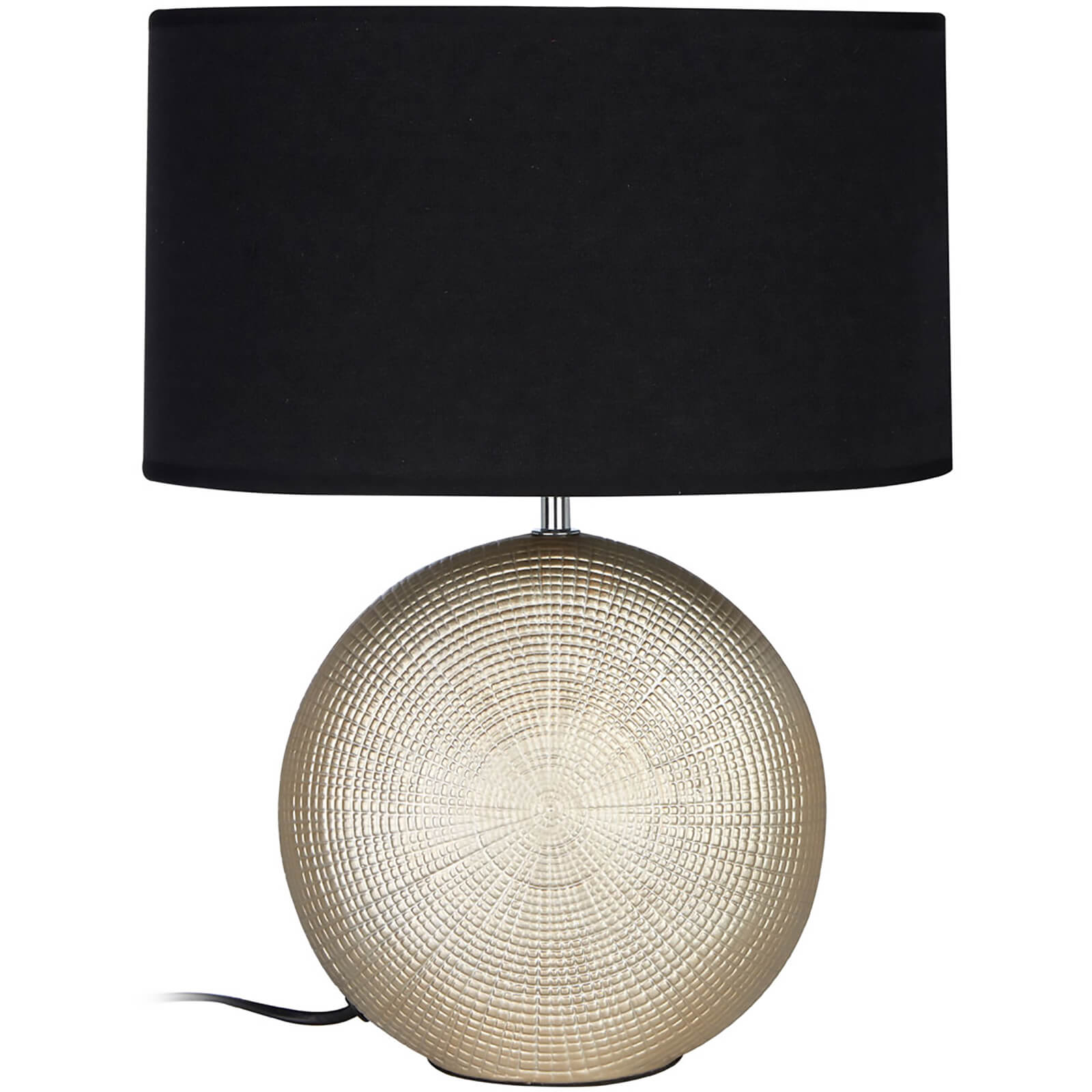 Fifty Five South Whisper Table Lamp - Gold/Black