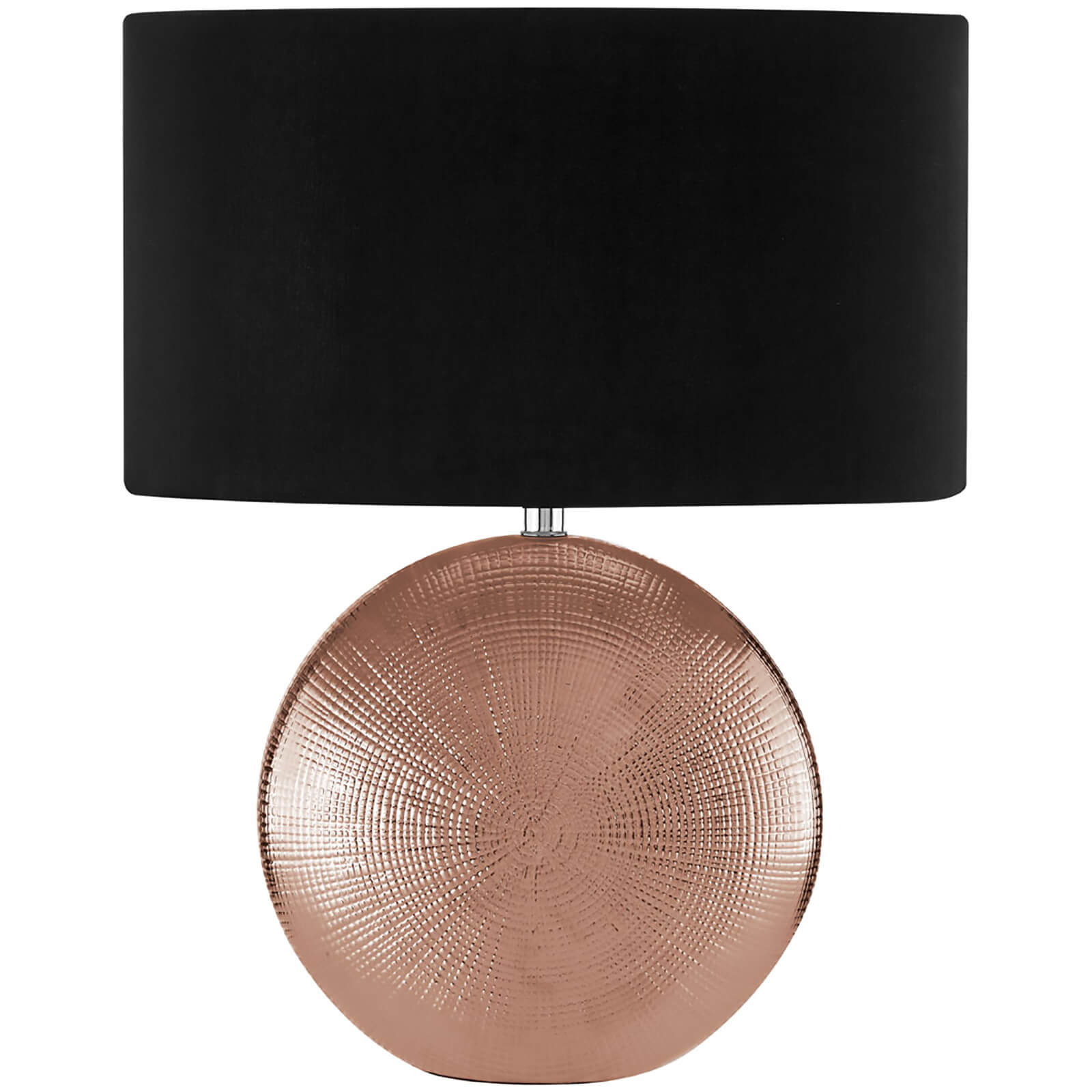 Fifty Five South Jasmin Table Lamp - Copper/Black
