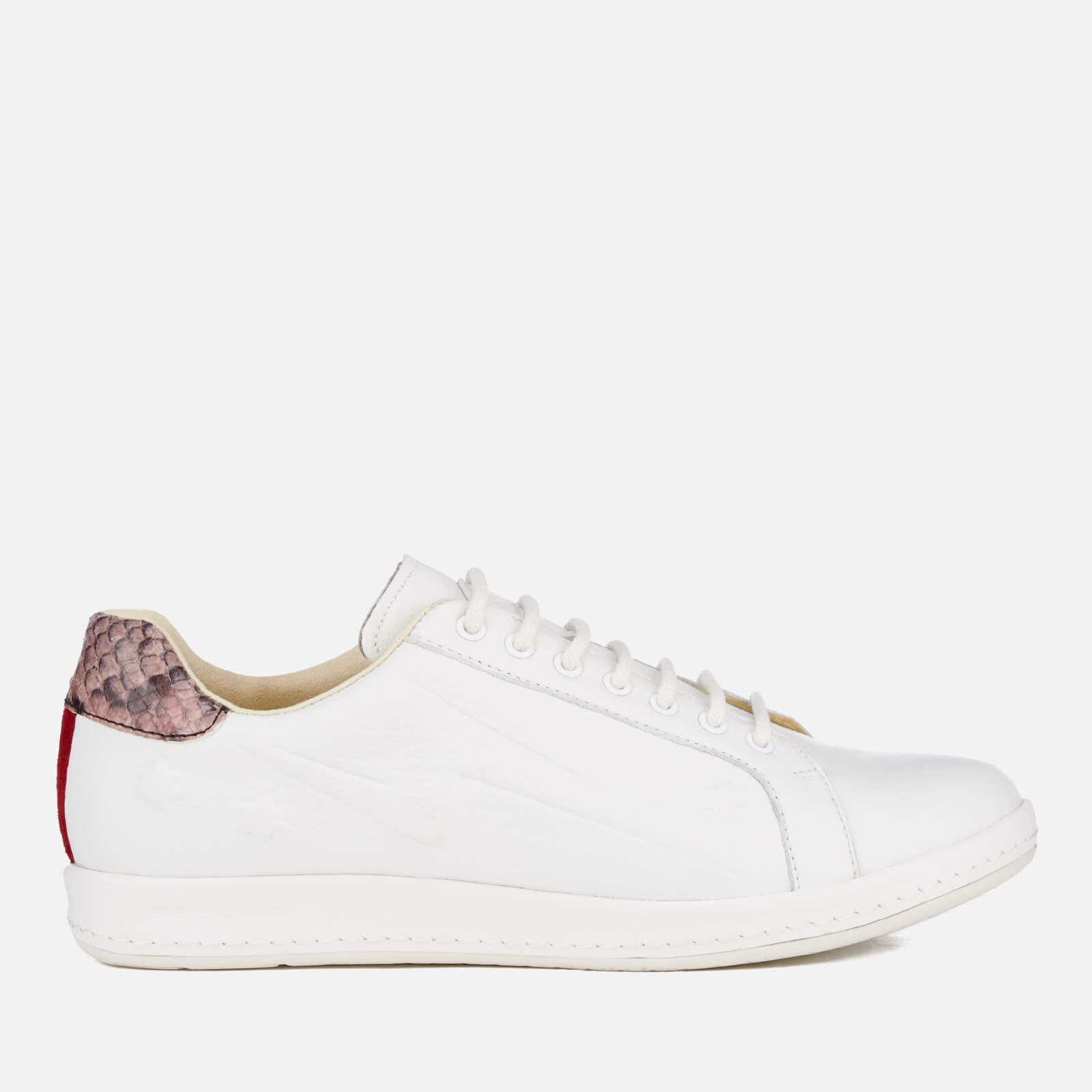 564f86853fb PS by Paul Smith Women's Lapin Star Embossed Trainers - White - Free UK  Delivery over £50