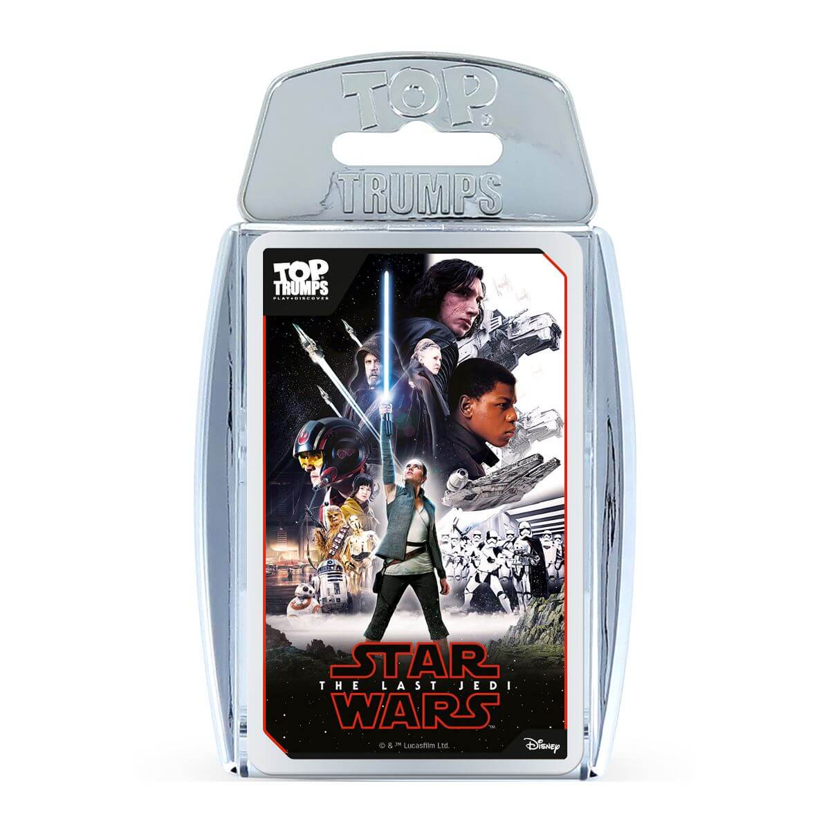 Top Trumps Premium - Star Wars Episode 8 Metallic Version