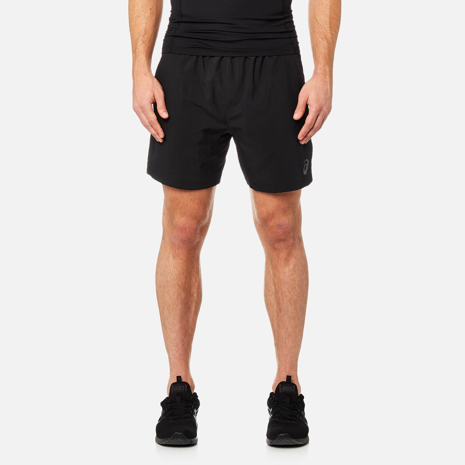 68e8b1721c Asics Men's Woven 7 Inch Shorts - Performance Black