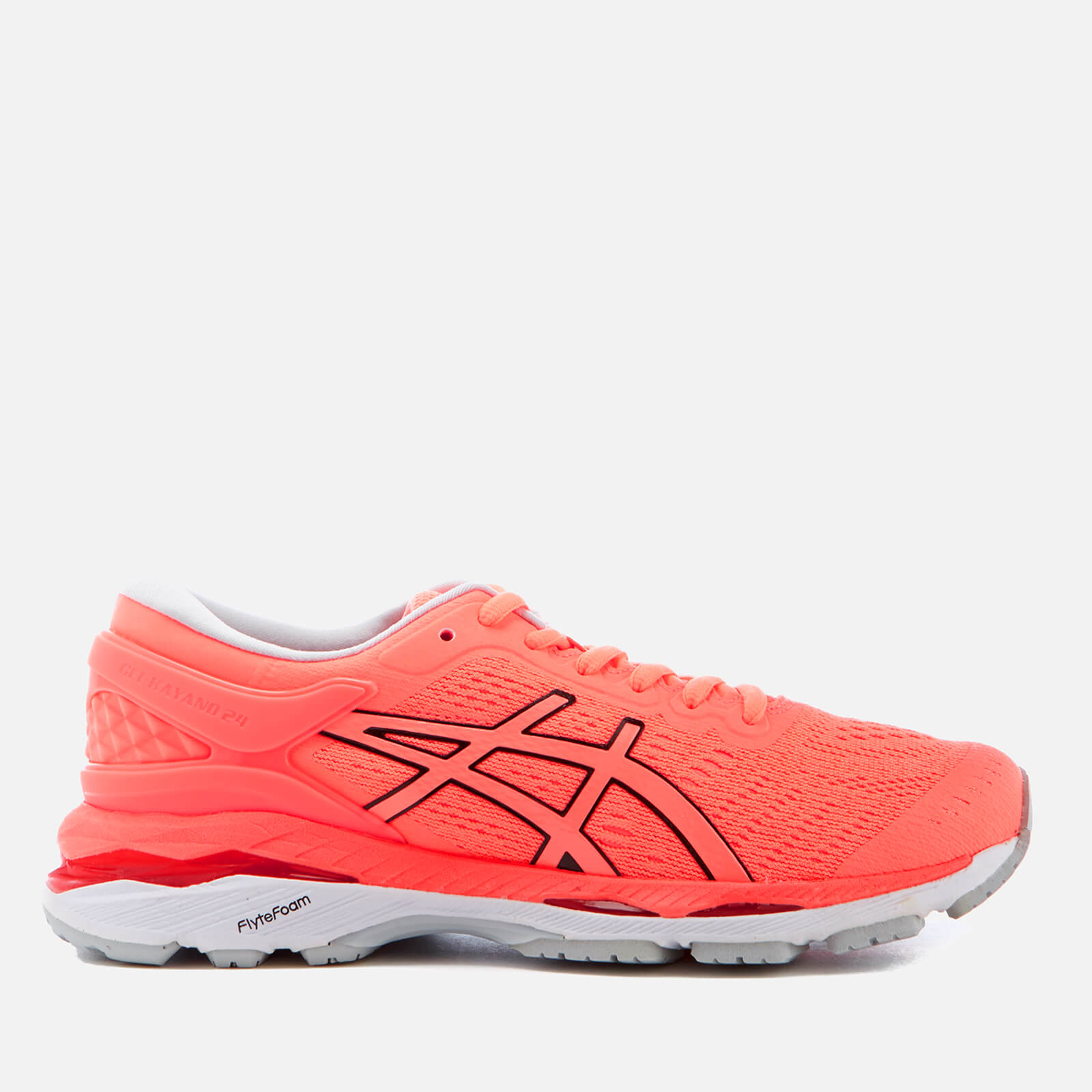 972ad9585b Asics Running Women's Gel Kayano 24 Trainers - Flash Coral